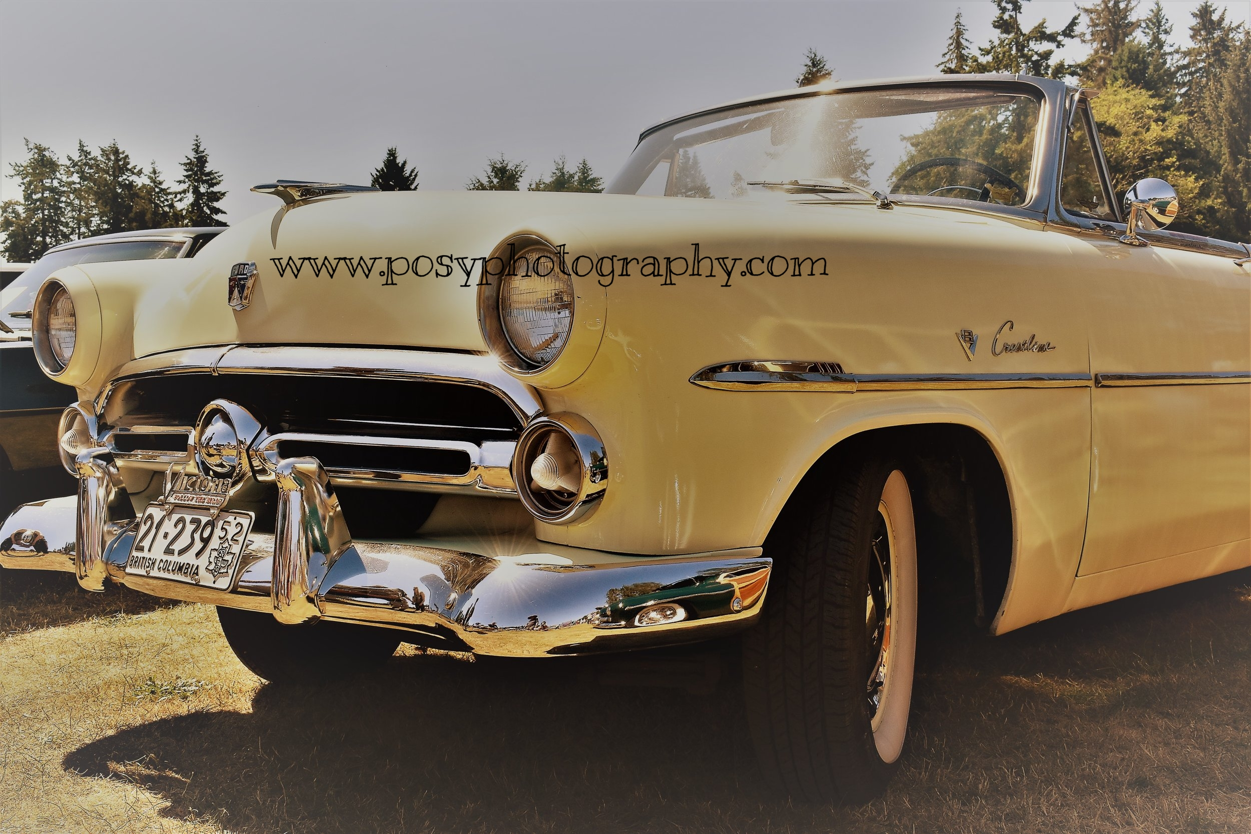 Ford - Sooke Car Show - Car photography
