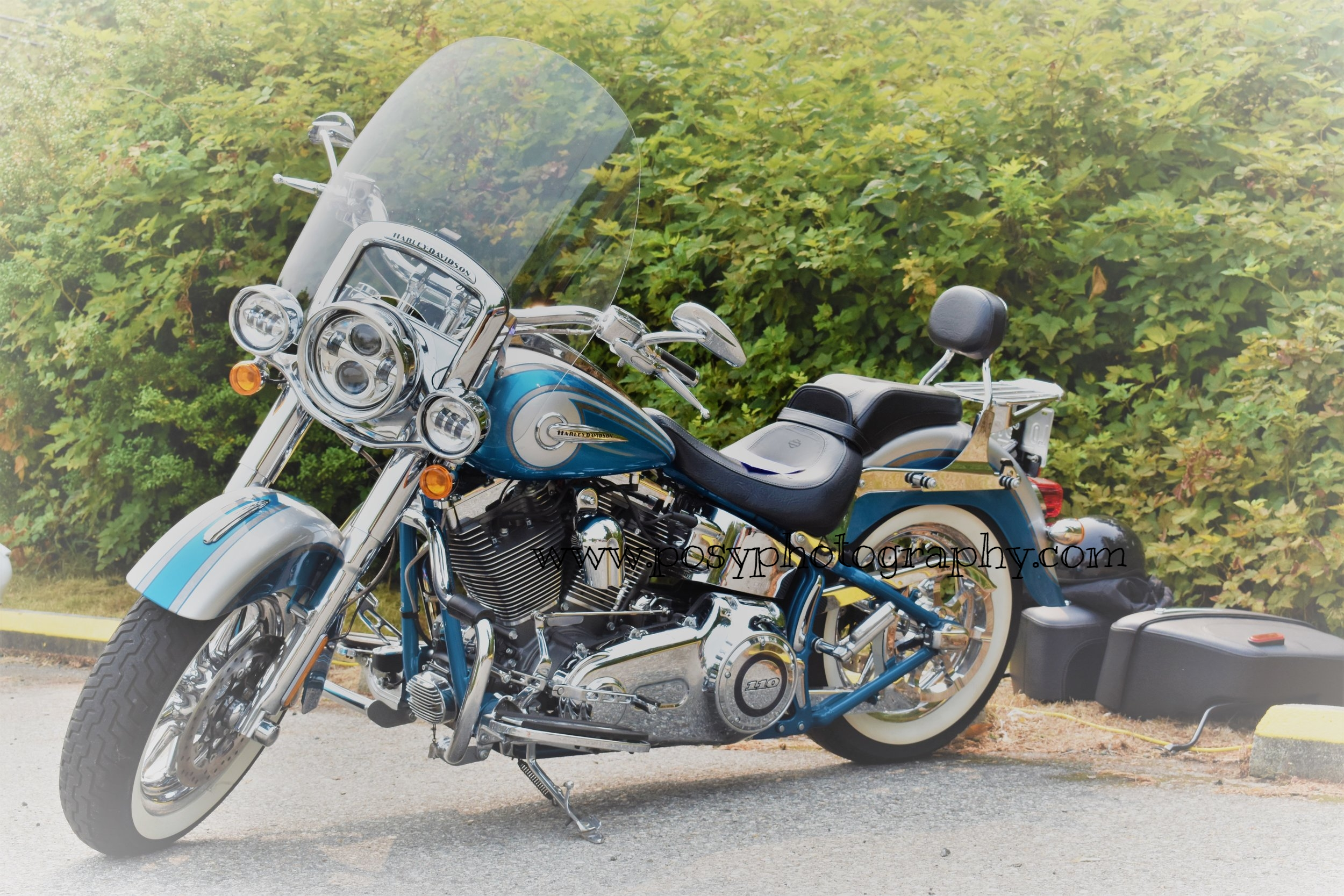 Pender Harbour Car Show - Motorbike photography