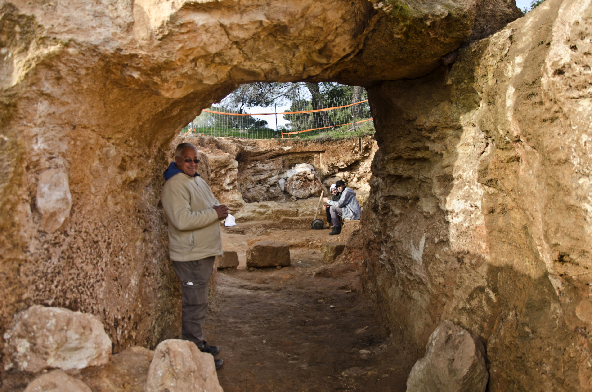 Extravagant burial estate from the Second Temple Period