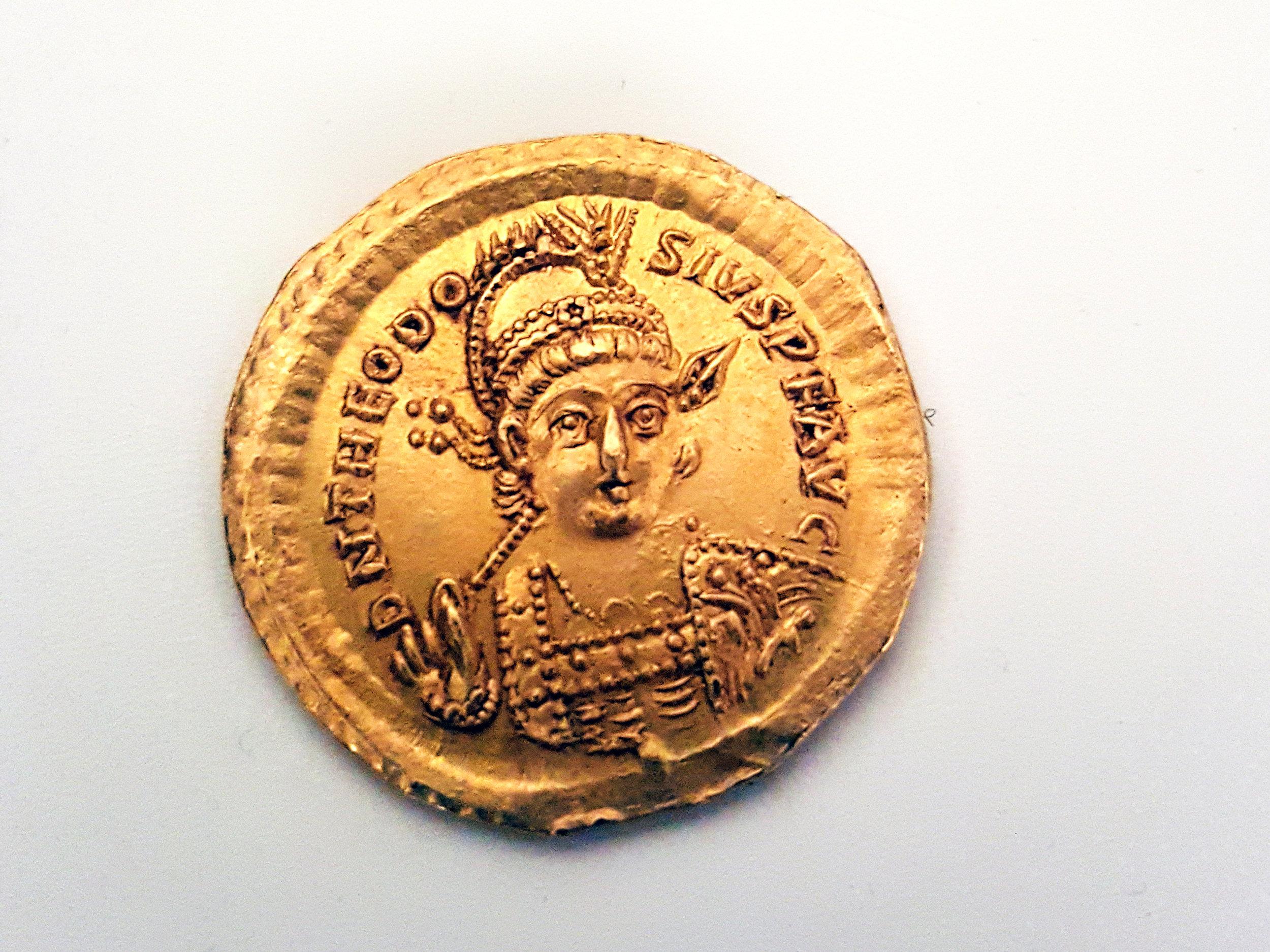 The Byzantine Emperor Theodosius II.