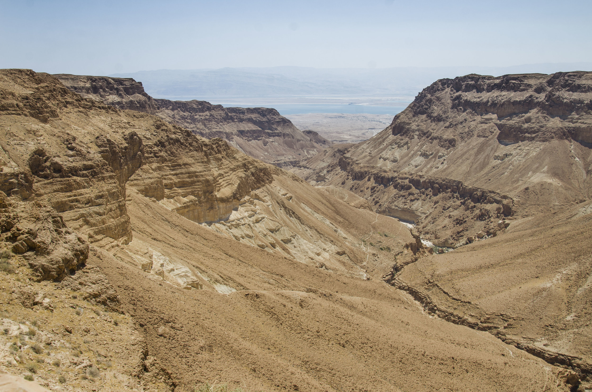 The Judean Desert.  Courtesy, the Israel Antiquities Authority.