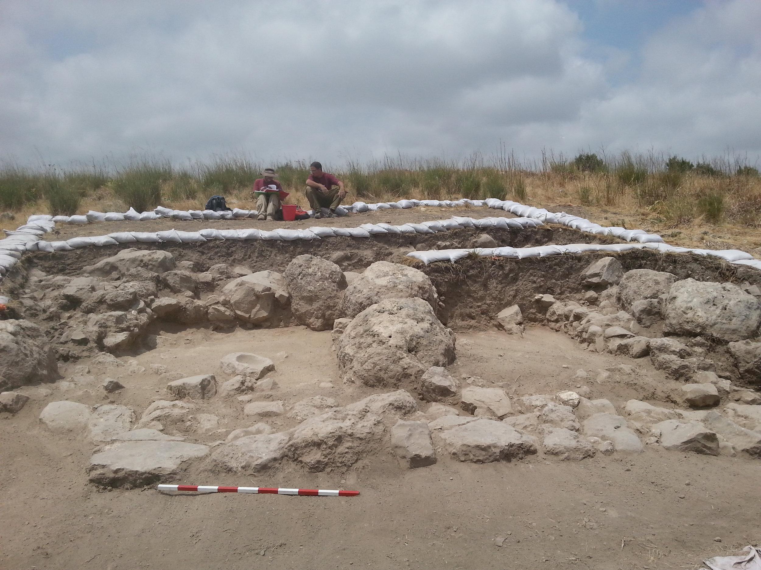 Courtesy, Excavation expedition to Khirbet al-Ra'i