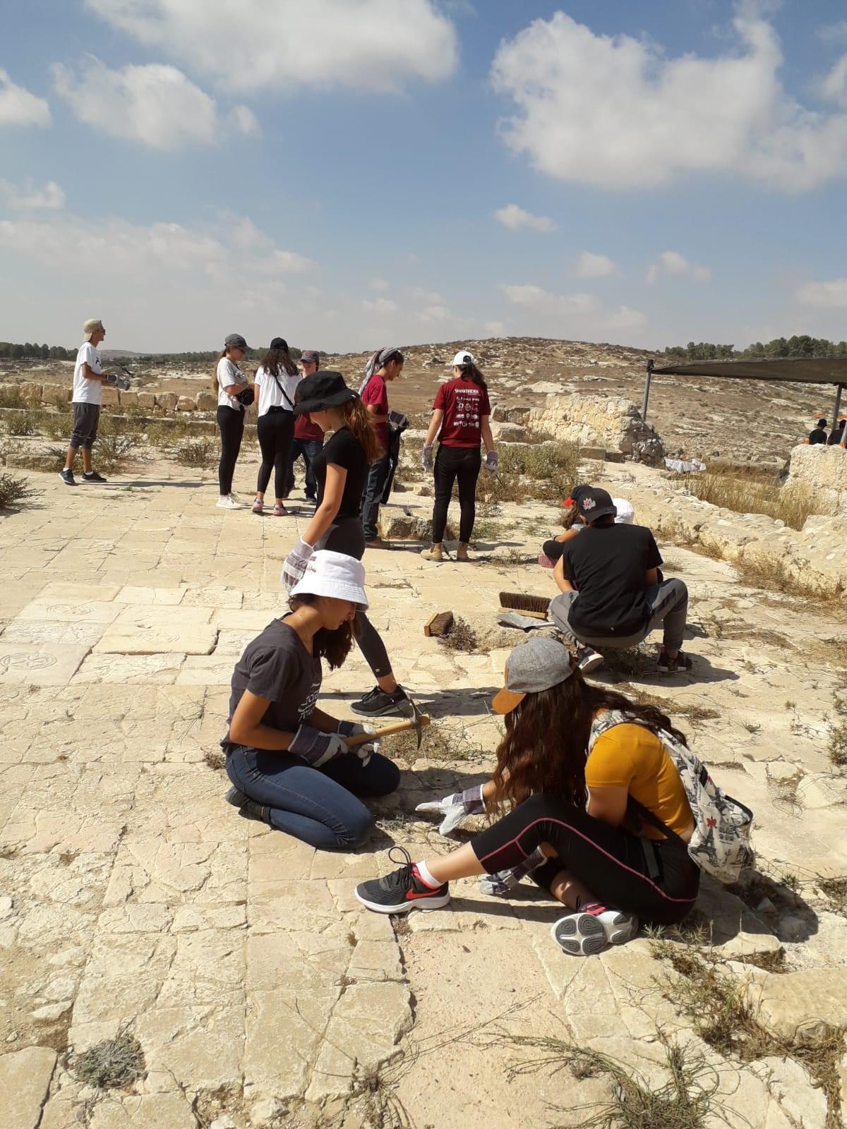 פרויקט סוכנות יהודית בחרבת רימון 2019.jpg