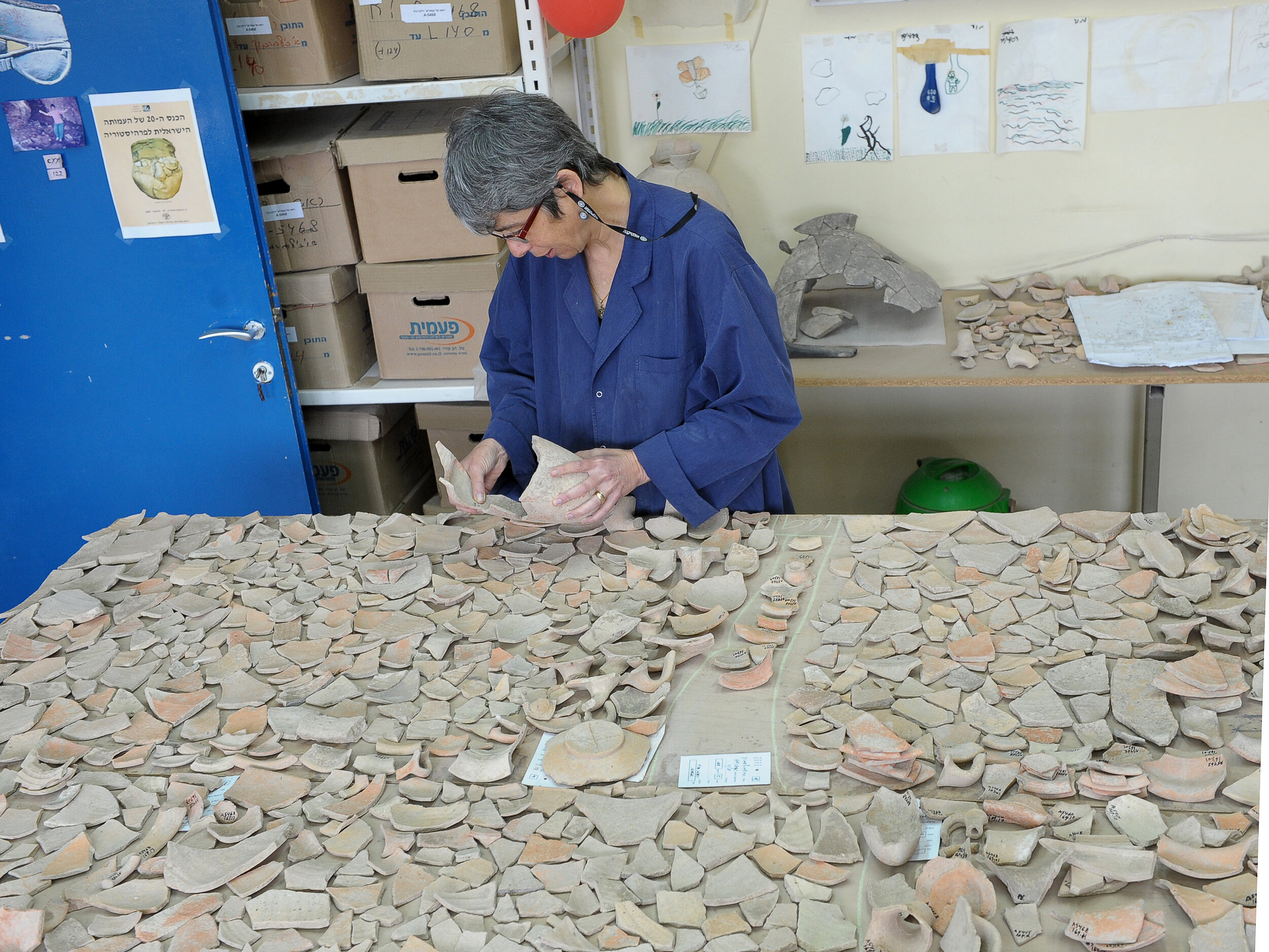 Photo: Clara Amit, Courtesy of the Israel Antiquities Authority