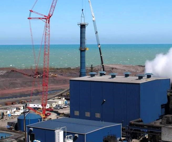 ArcelorMittal East 504 Boiler Enclosure