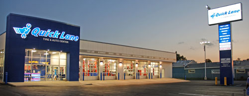 Quick Lane Auto Center in Hammond was Built to Franchise Specs by Pangere