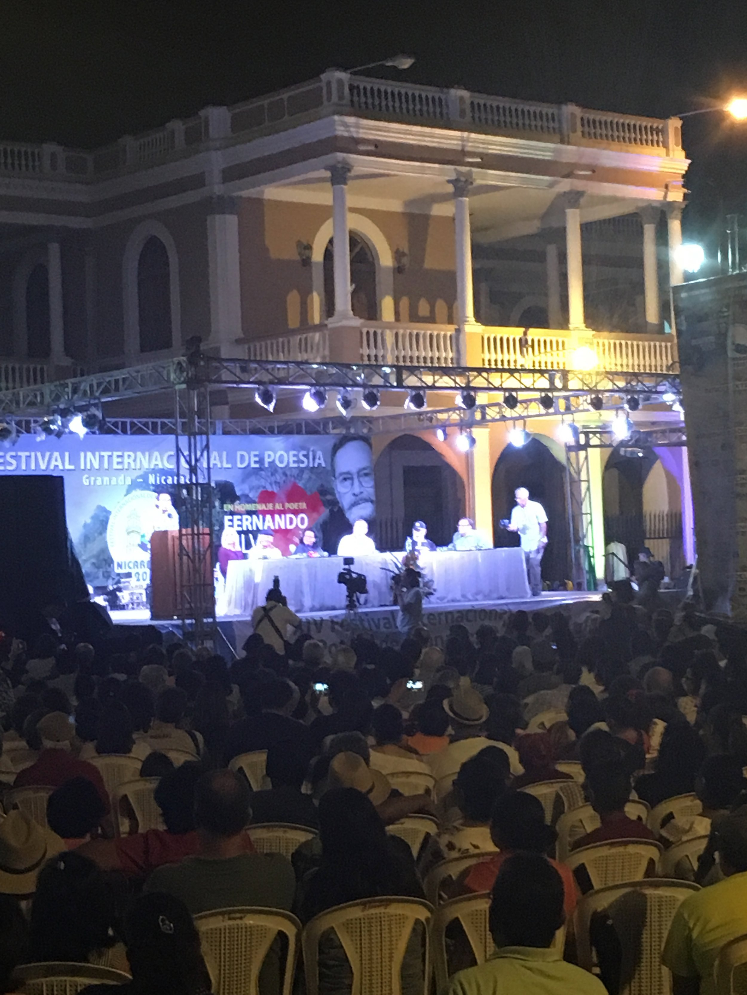 The poetry festival held every February