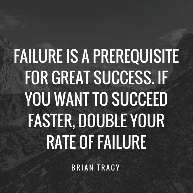 I don't know who Brian Tracy is but he sounds smart... :0)