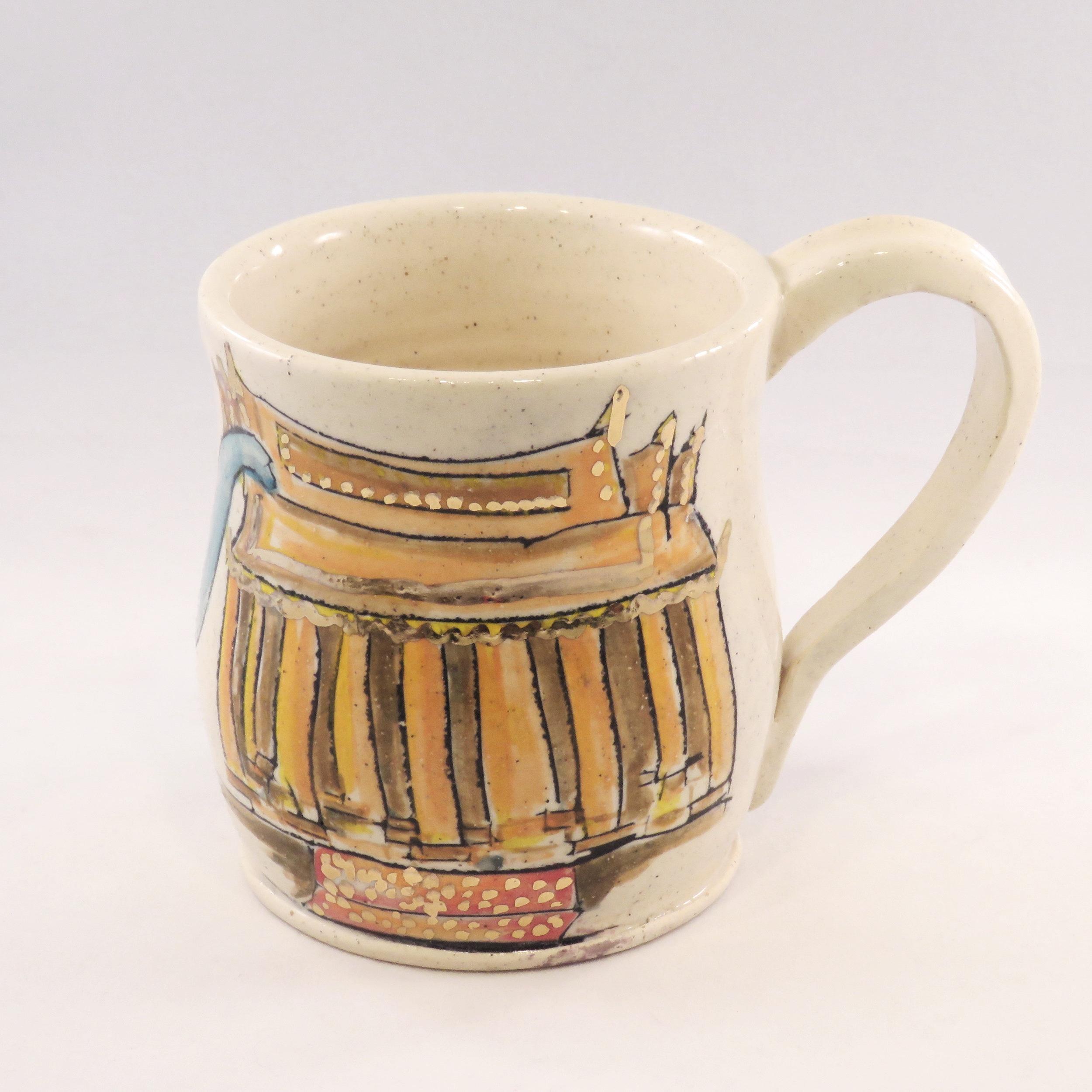 Temple  elephant mug