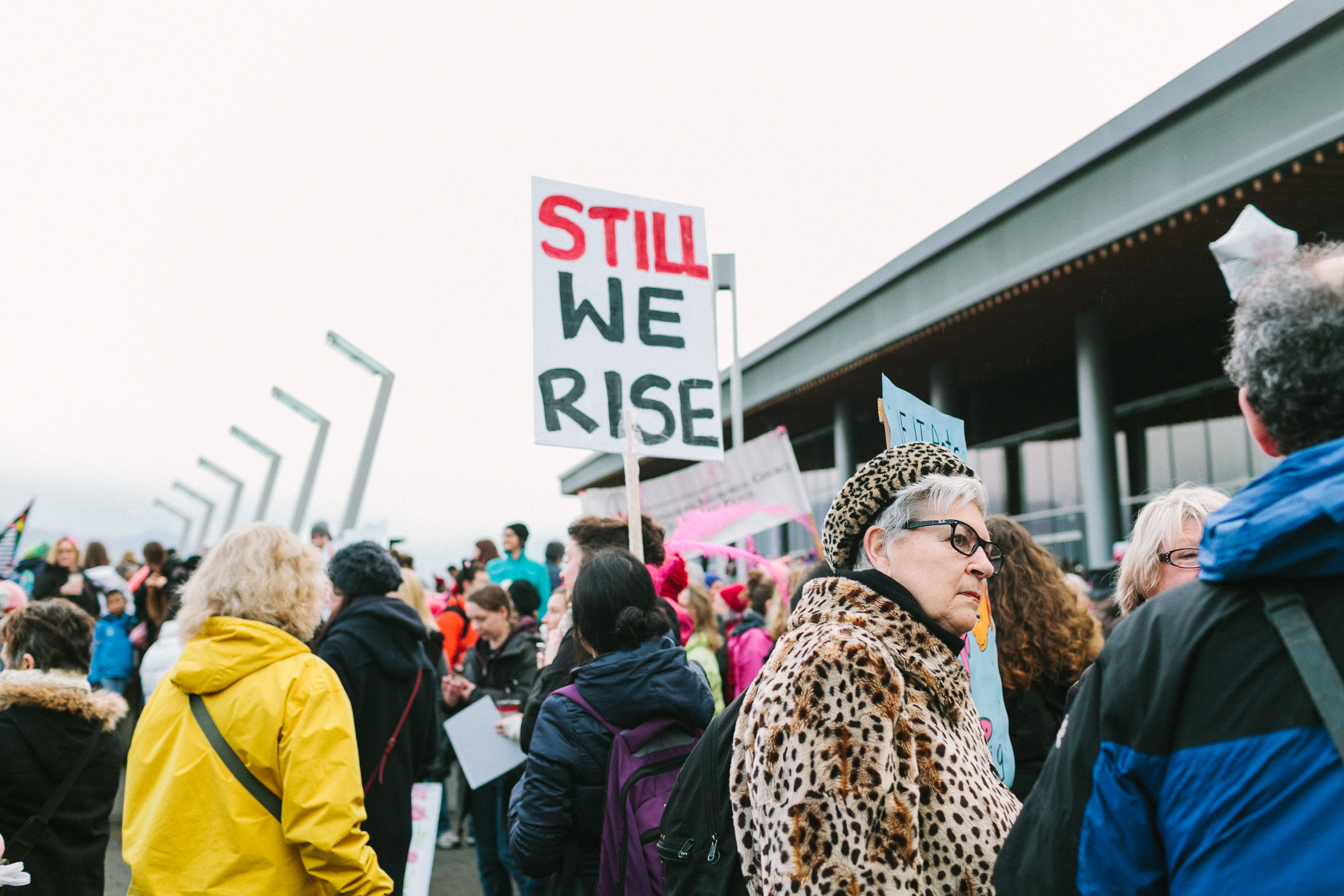Womens march- still we rise