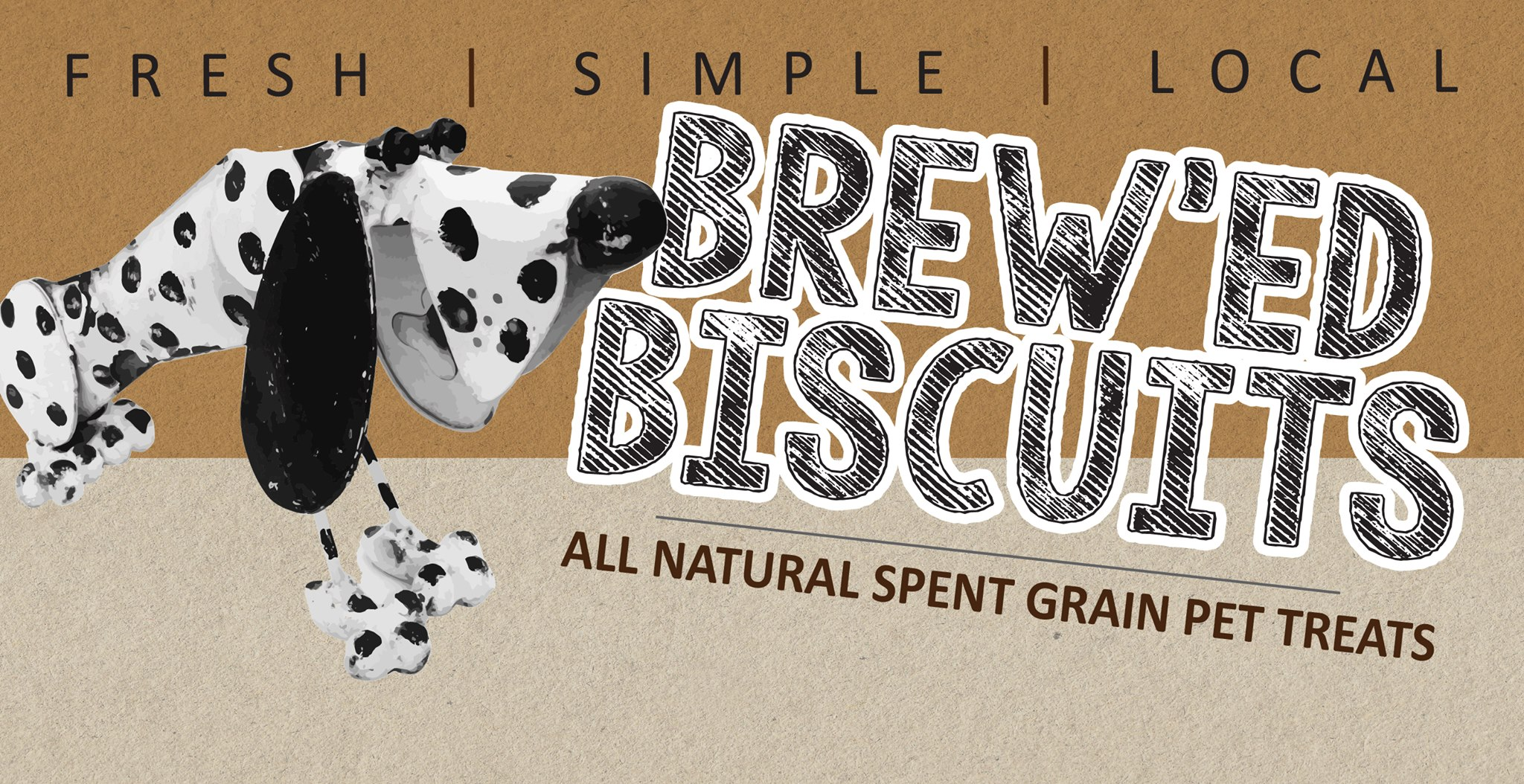 People Tested... Pet Approved! Brew'd Biscuits are an All Natural Pet Treat made with Hearty Recycled SPENT GRAINS & Local Products.     https://www.twospentgrains.ca