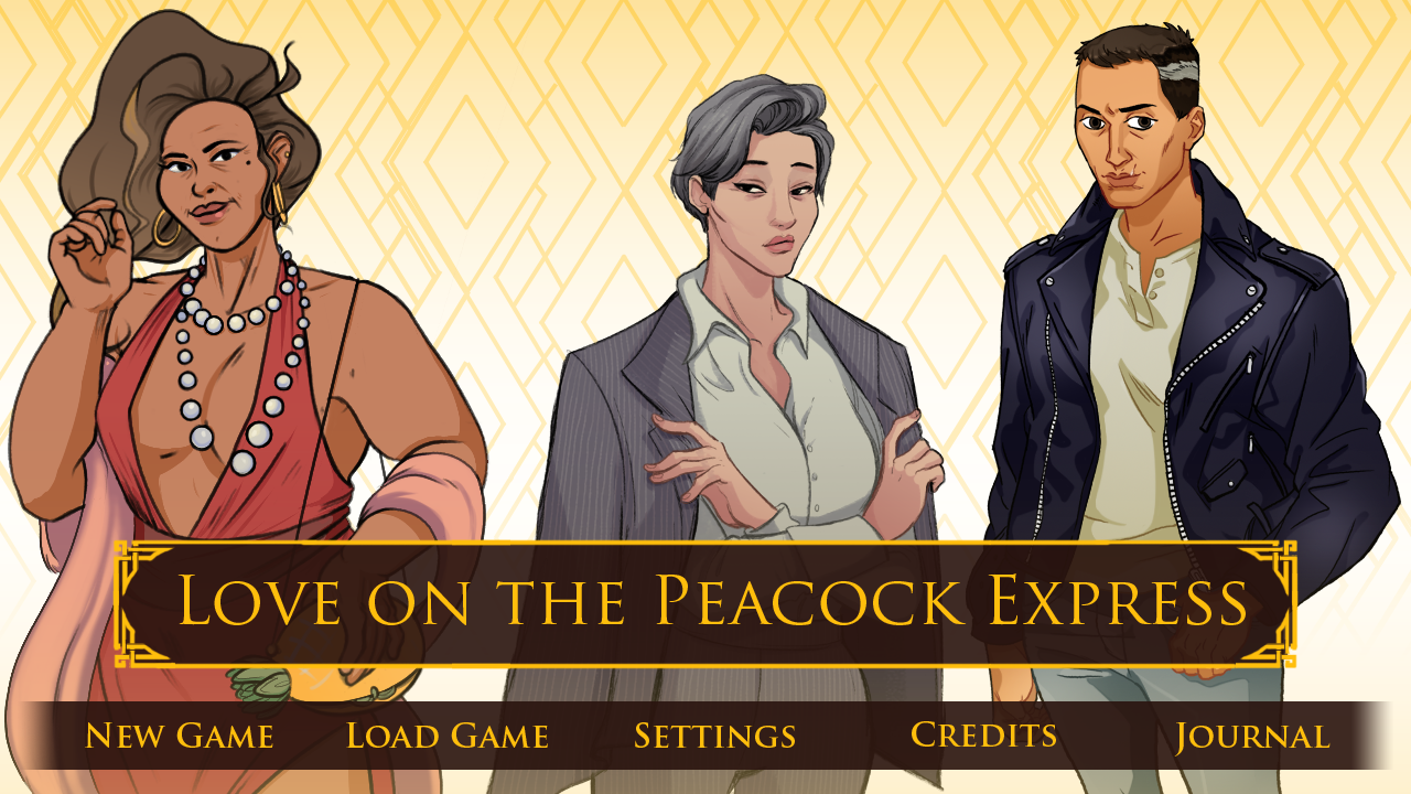 Love on The Peacock Express -