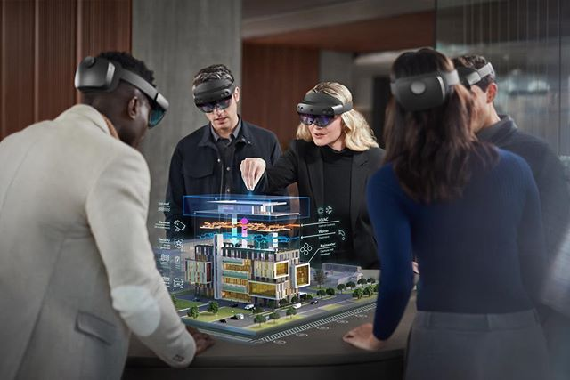 It's been a privilege to work with Cinco Design & Microsoft on the Hololens 2 release  #hololens2 #microsoft #launch #cincodesign #mwc2019 #hologram #ar #future #technology #houdini #nuke #substance #redshift  #vfx #cg #cgi #3d #hololens #hololensmicrosoft #mwc #mobileworldcongress #augmentedreality #virtualreality #vr #mr #innovation #technology #gadgets #microsofthololens2 #holograms