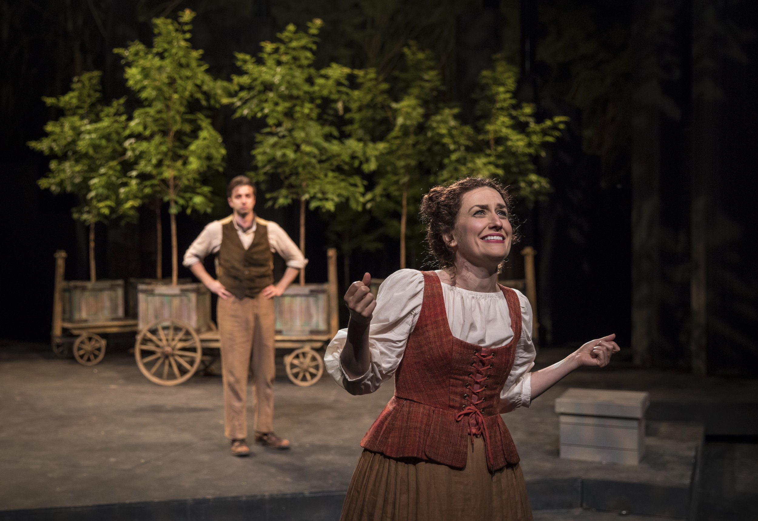 As You Like It/ American Players Theatre  Photo by Liz Lauren