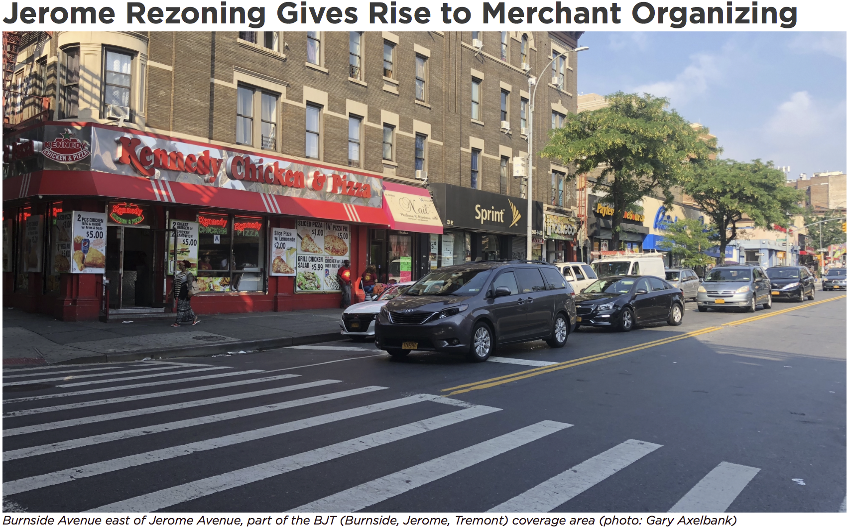 The  Davidson Community Center  has launched the  Burnside Jerome Tremont (BJT) Bronx Commercial District Marketing Campaign and Merchant Association.  Click the image to read the full article.