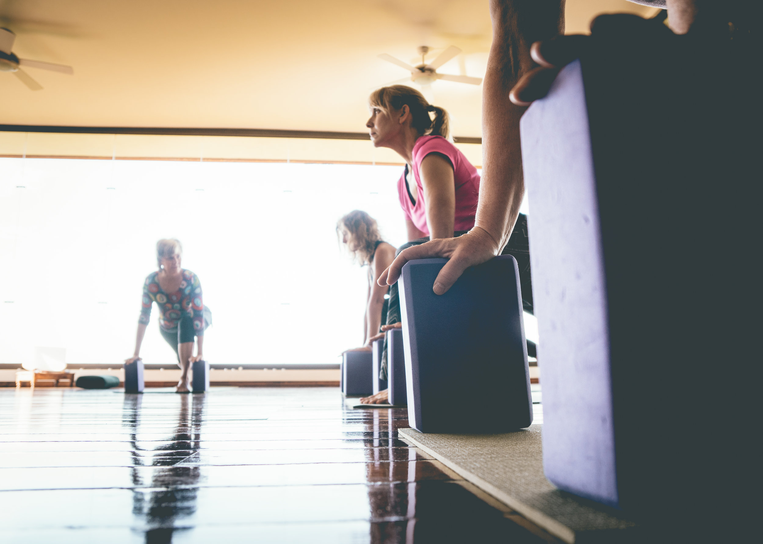 """""""The teacher training added substantially to my knowledge, experience, and my understanding of yoga.  It was engaging, demanding, exhilerating and fun."""""""