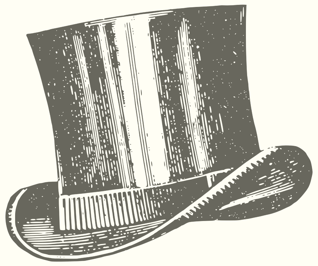 Vintage illustration of a gentleman's top hat.png