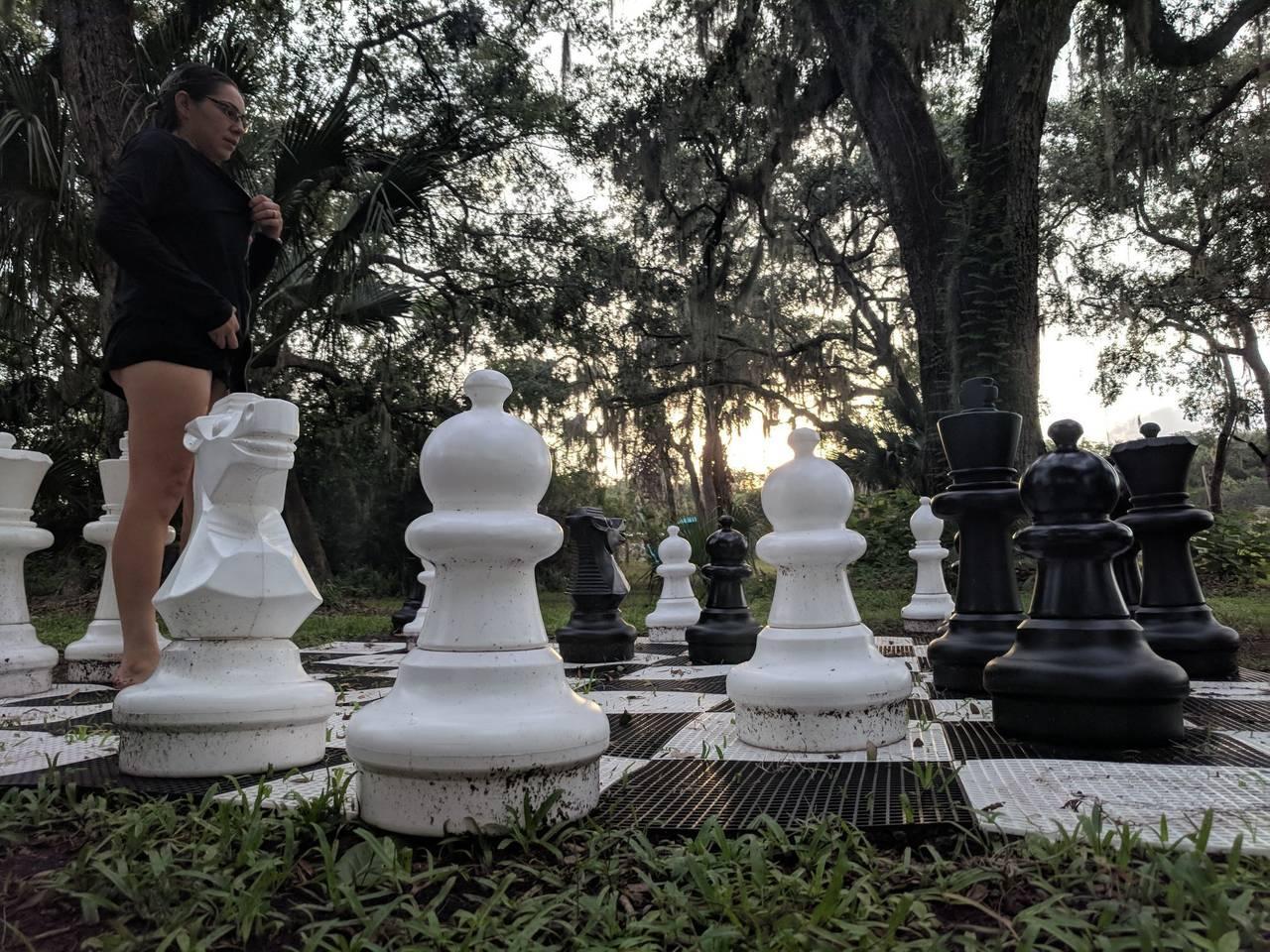 Jumbo chessboard set