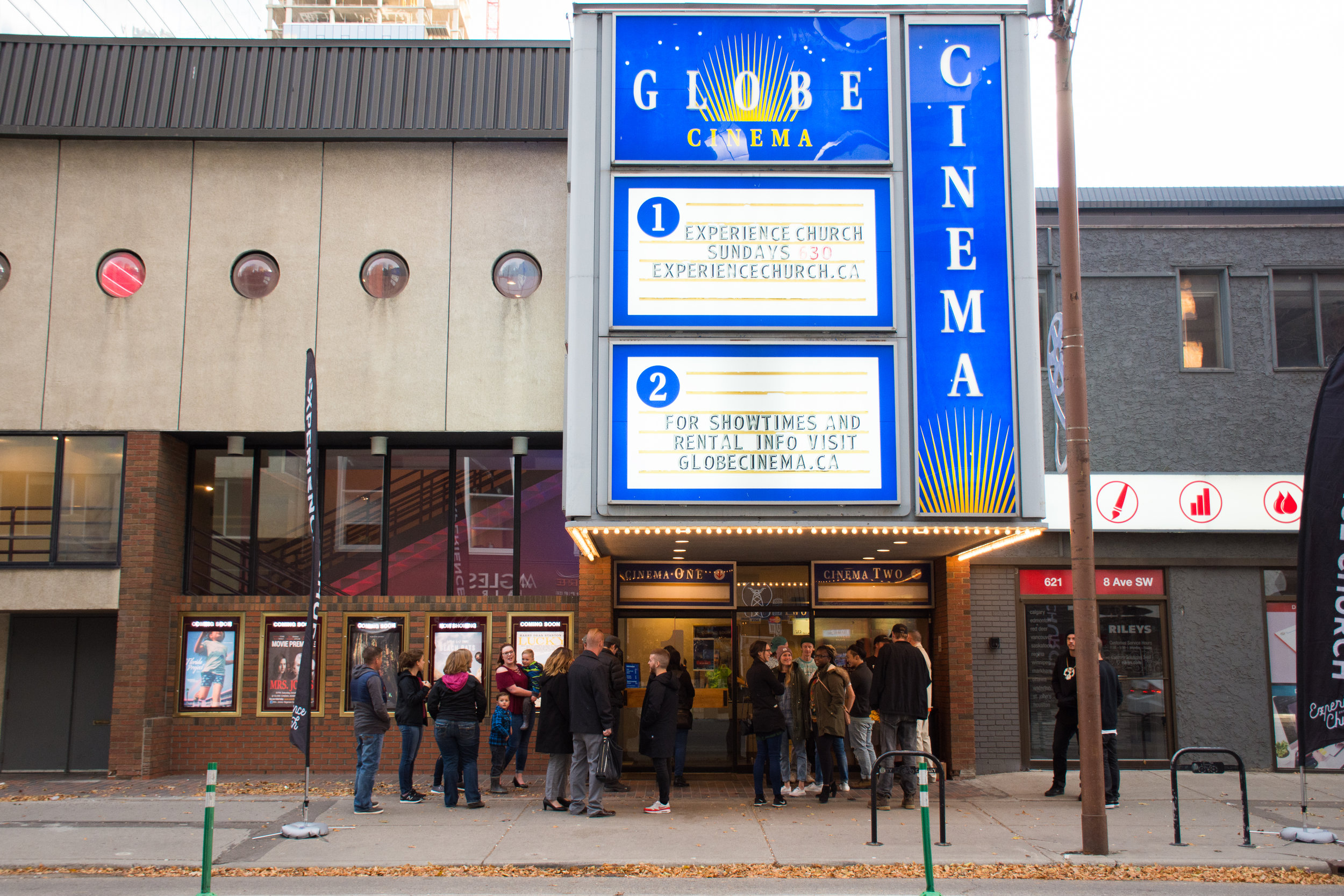 Globe Cinema - 617 8 Avenue SWCalgary, AB T2P 1H16:30pm
