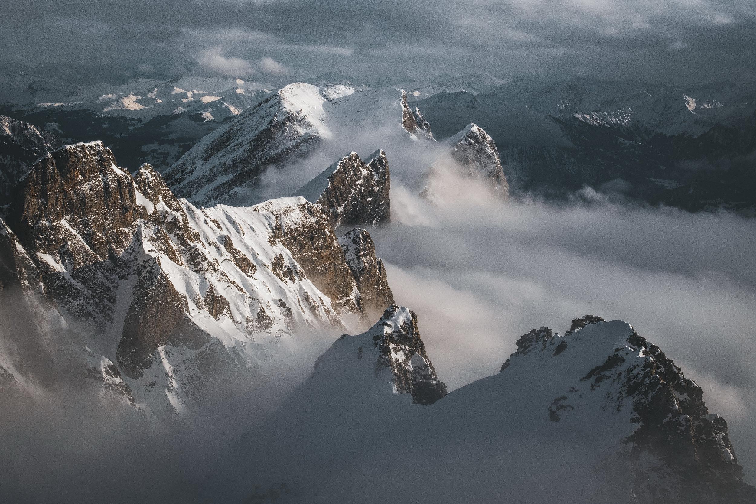 Alvier moutain range | St. Gallen, Switzerland