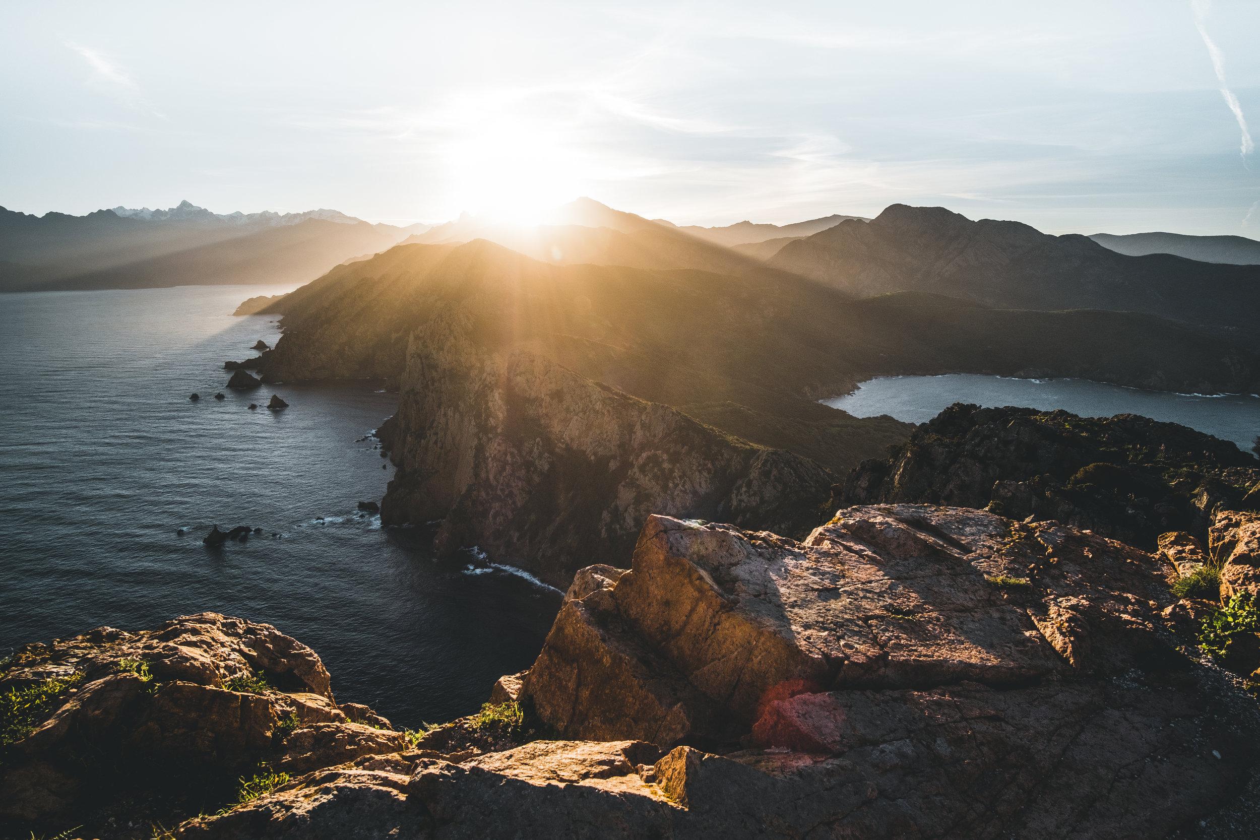 Sunrise at Capo Rosso