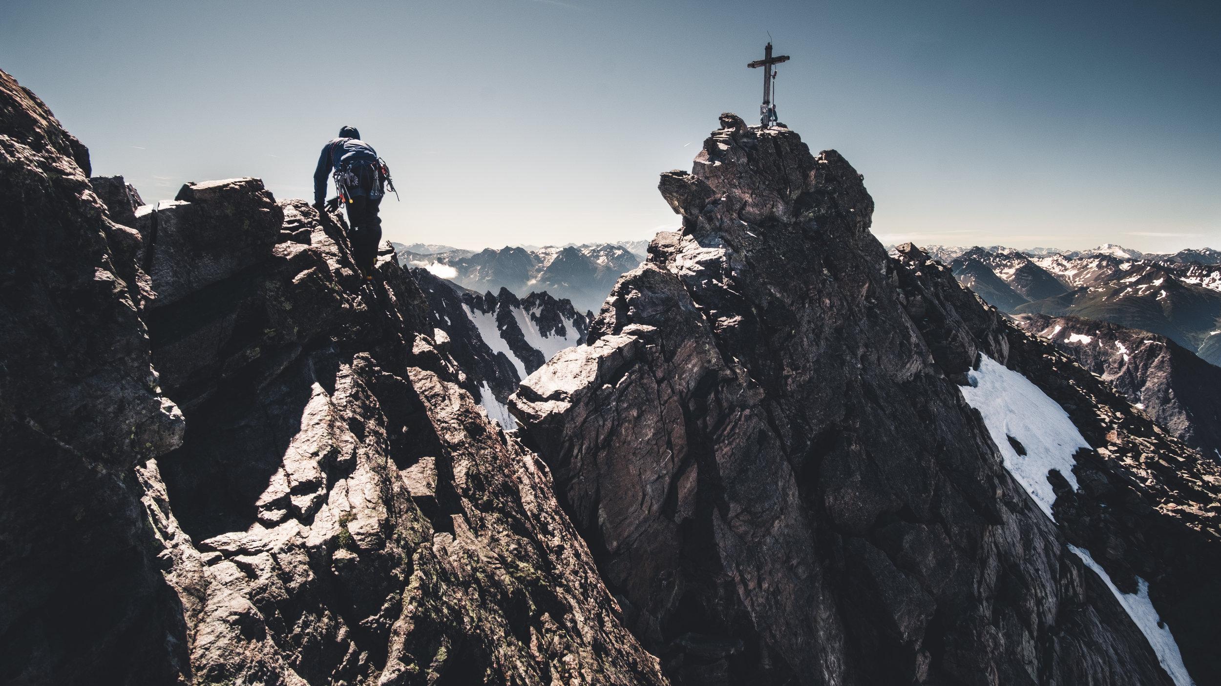 Gipfel Dreiländerspitze