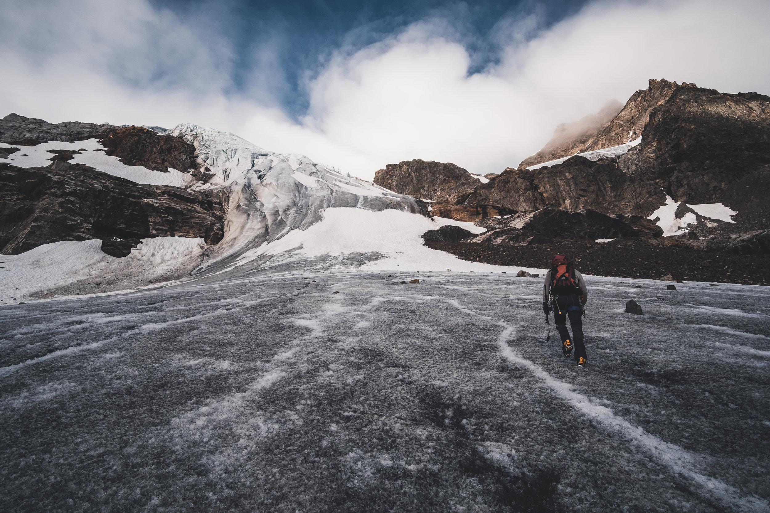 aperer Ochsentaler Gletscher