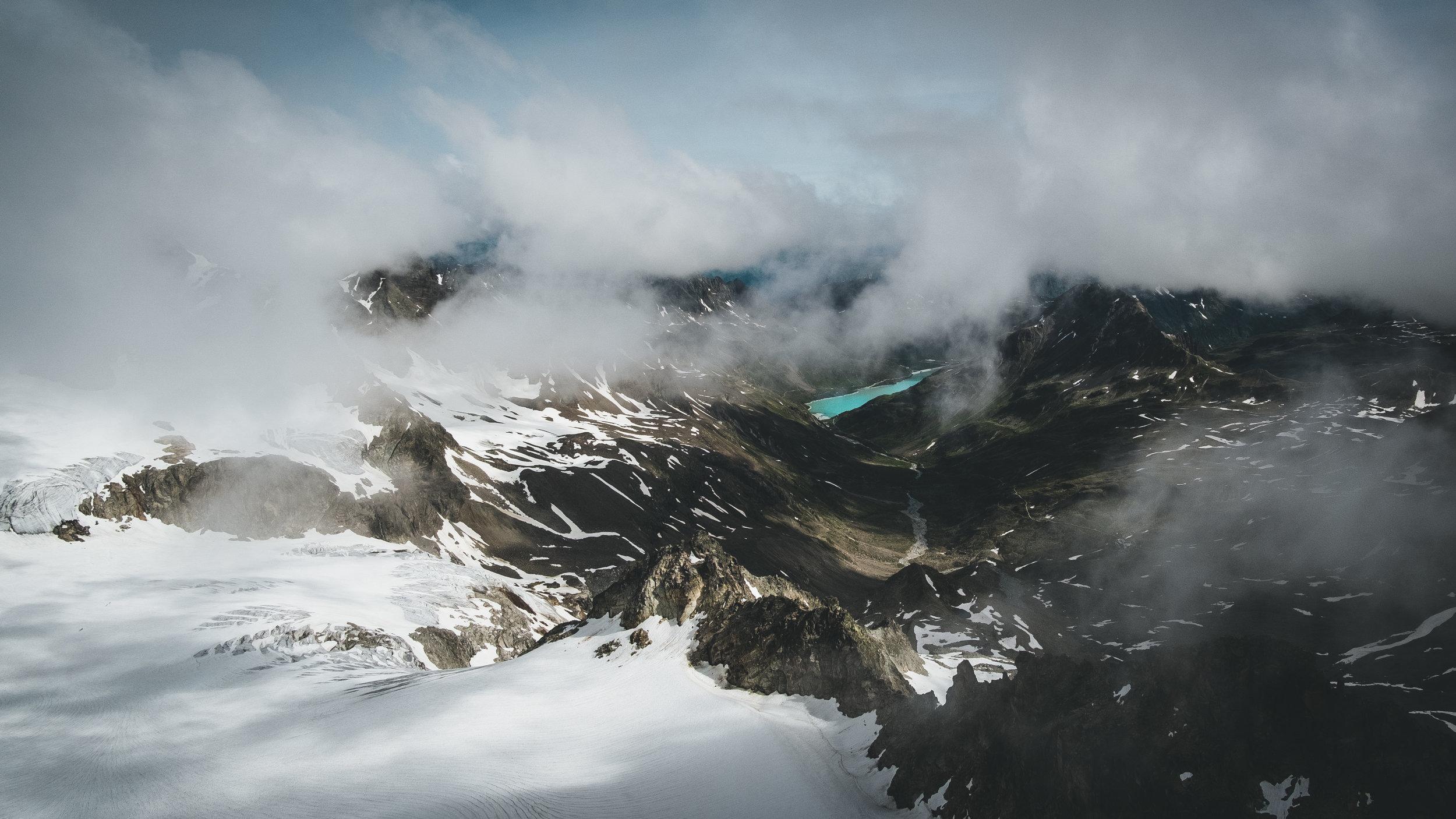 Aussicht vom höchsten Berg Vorarlbergs