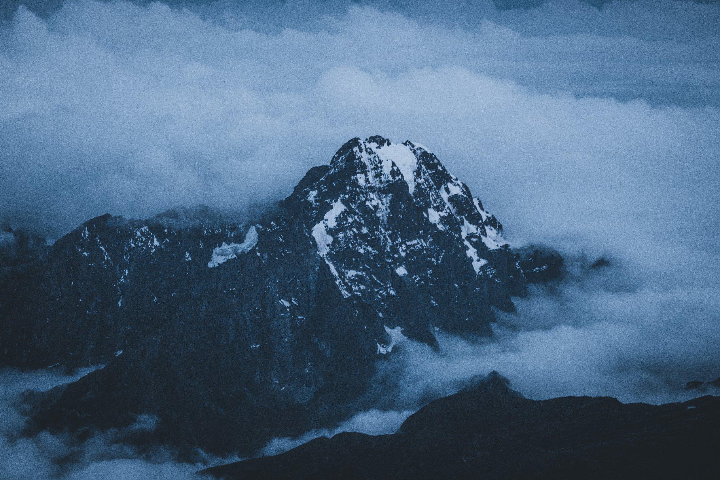 Cerro Tiquimani 5.519 m