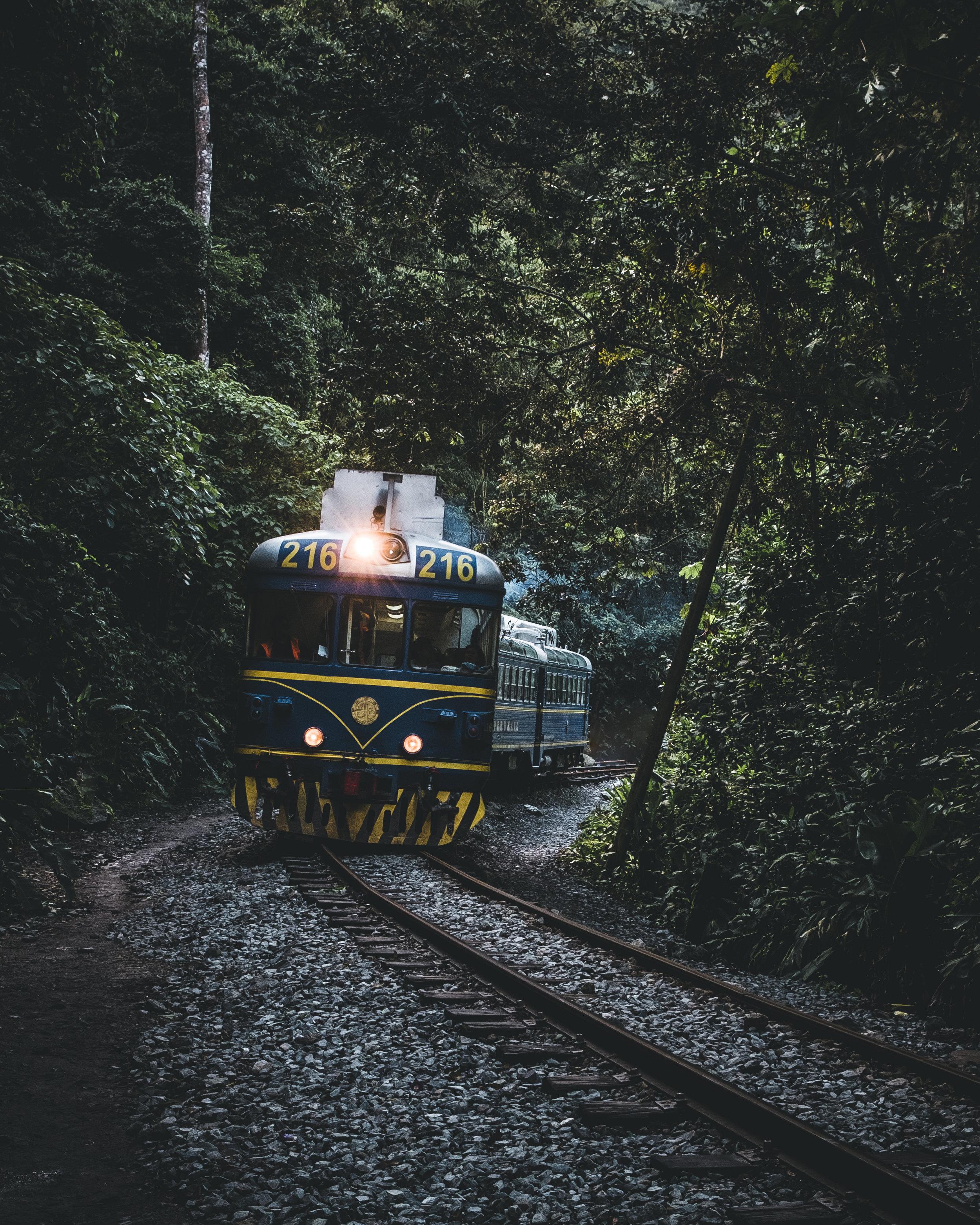 Train to Aguas Calientes | Urubamba valley