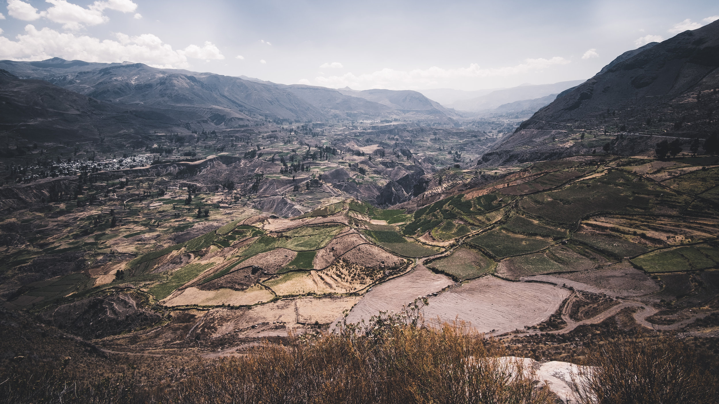 Agriculture in the Colca Canyon | Chivay