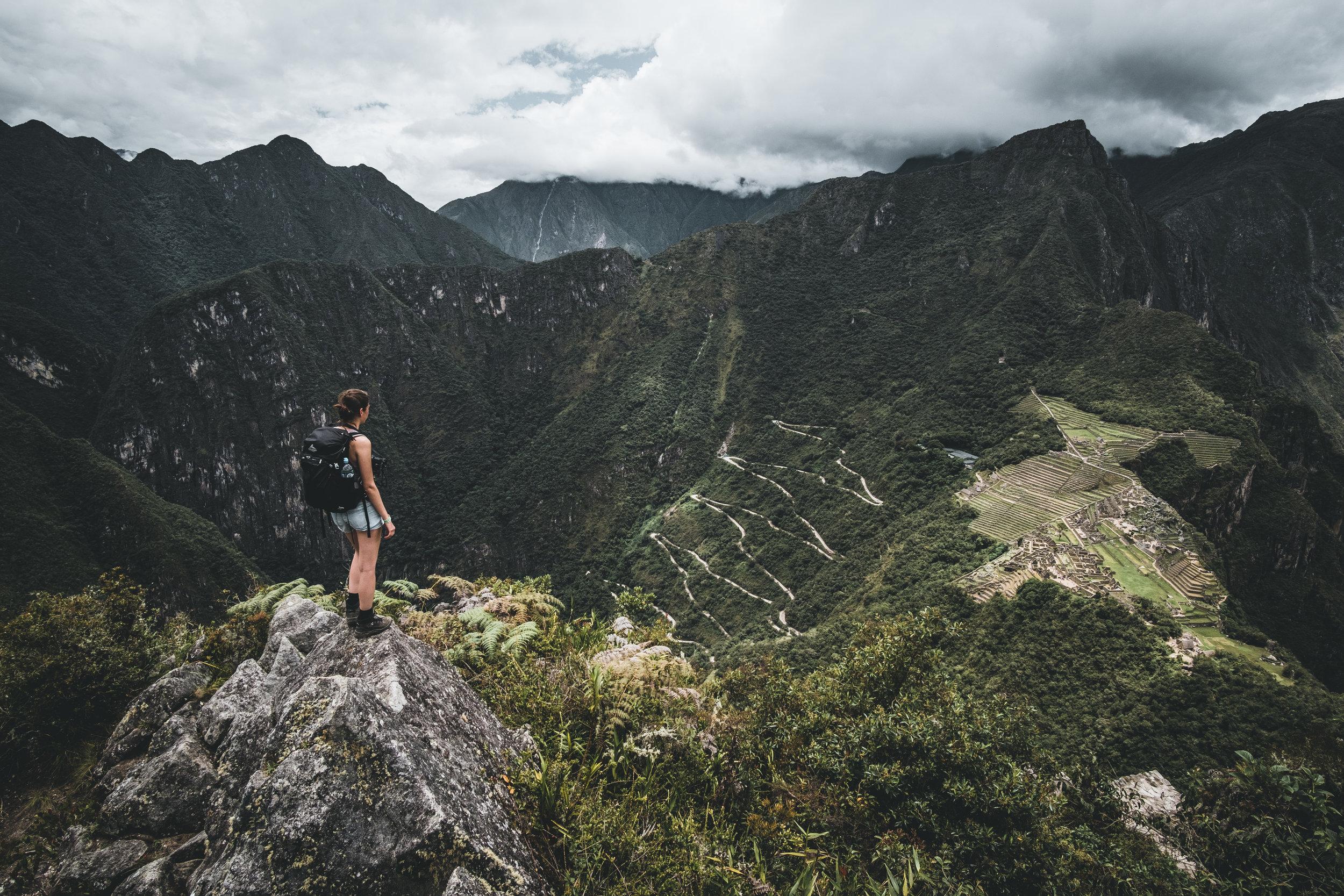 On top of the mountain Huayna Picchu | Urubamba valley