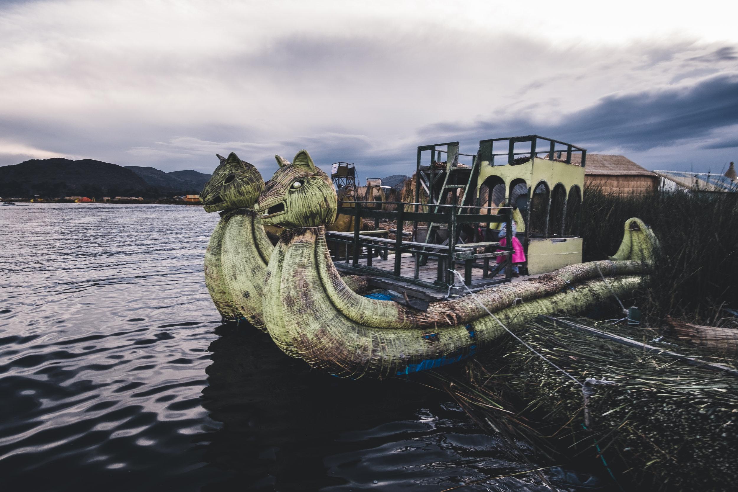 Floating islands | Titicaca lake, Puno