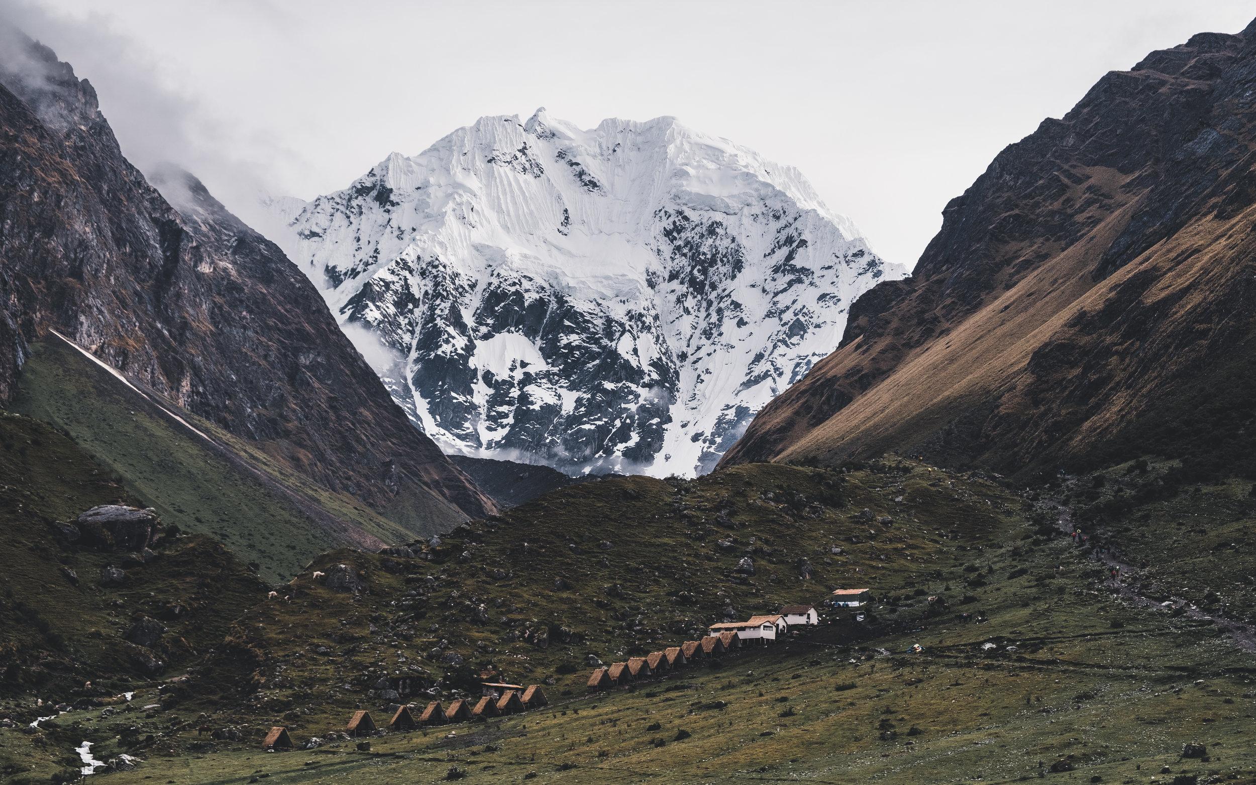 Nevado Salkantay 6.271 m | Cordillera Vilcabamba