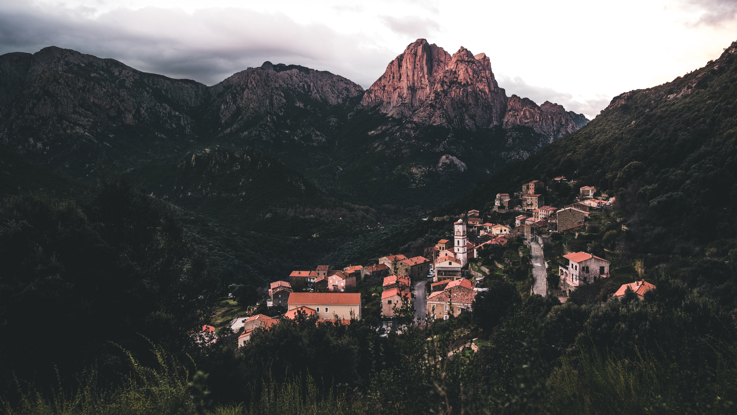 The beautiful village of Ota