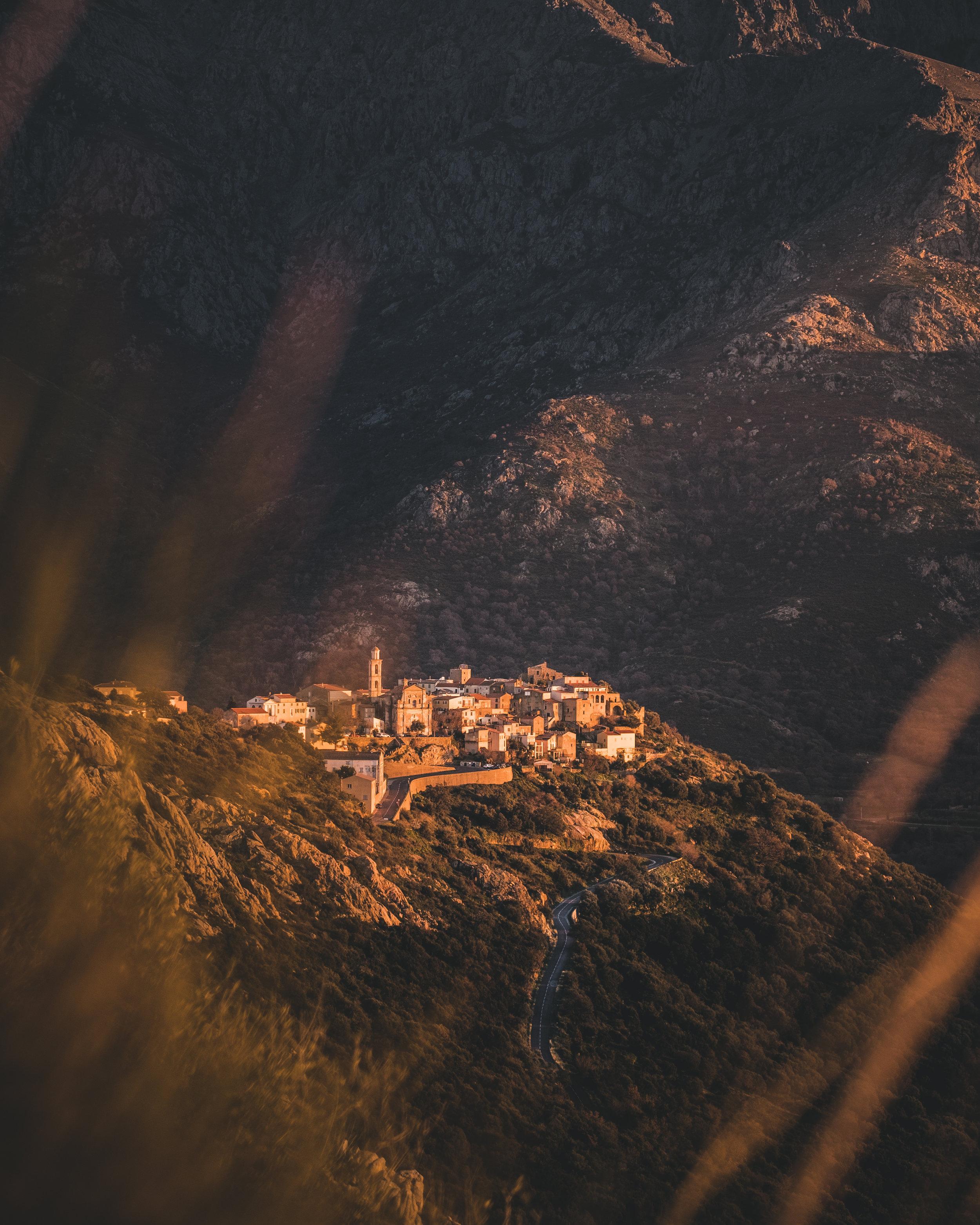 The village Montemaggiore