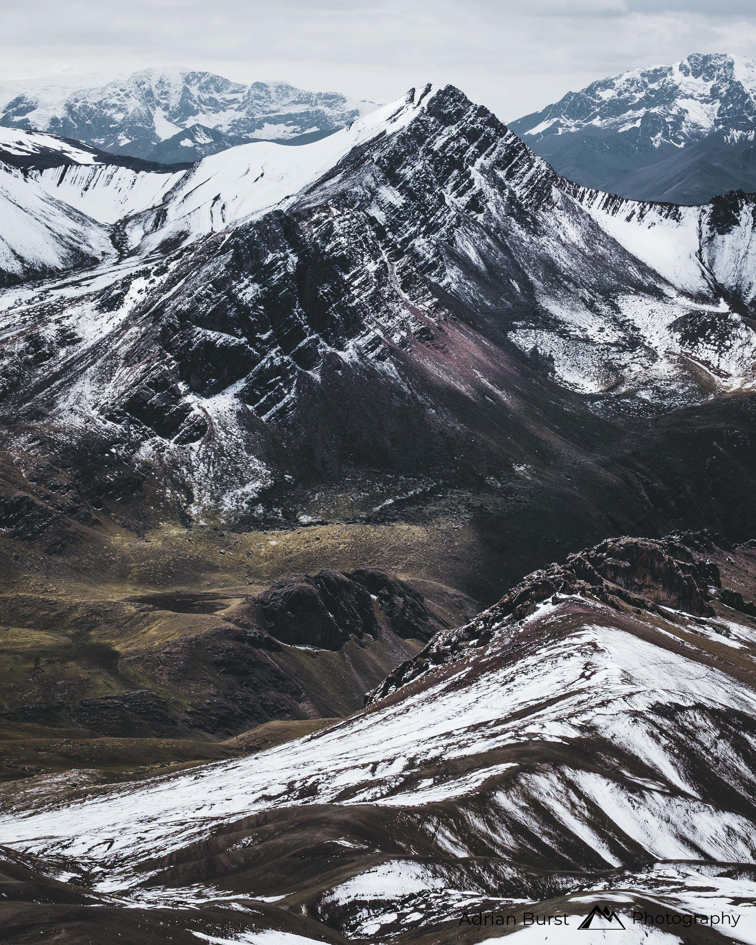 "22 | Vinicunca mountains, ""Rainbow mountains"""