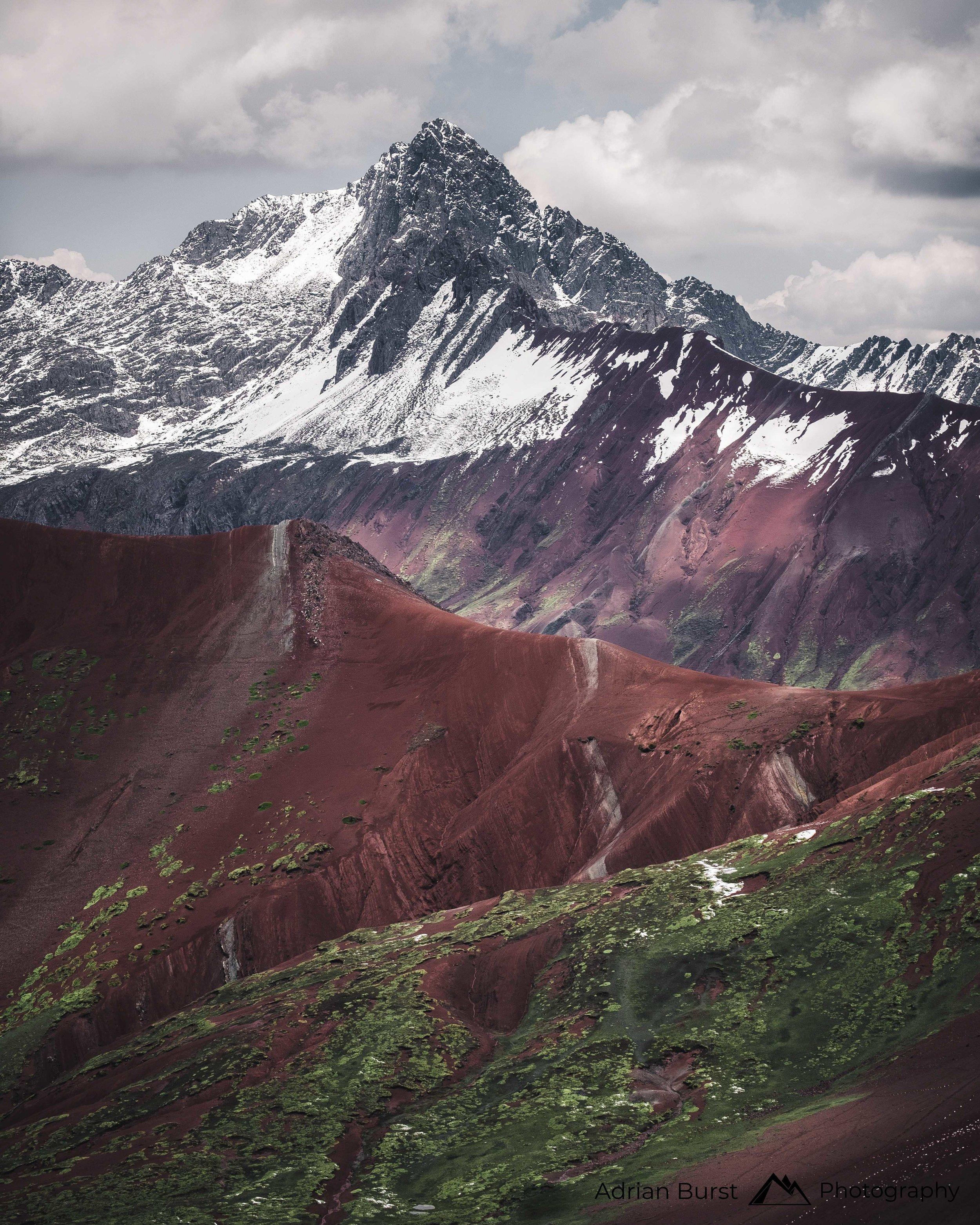 "23 | Vinicunca mountains, ""Rainbow mountains"""