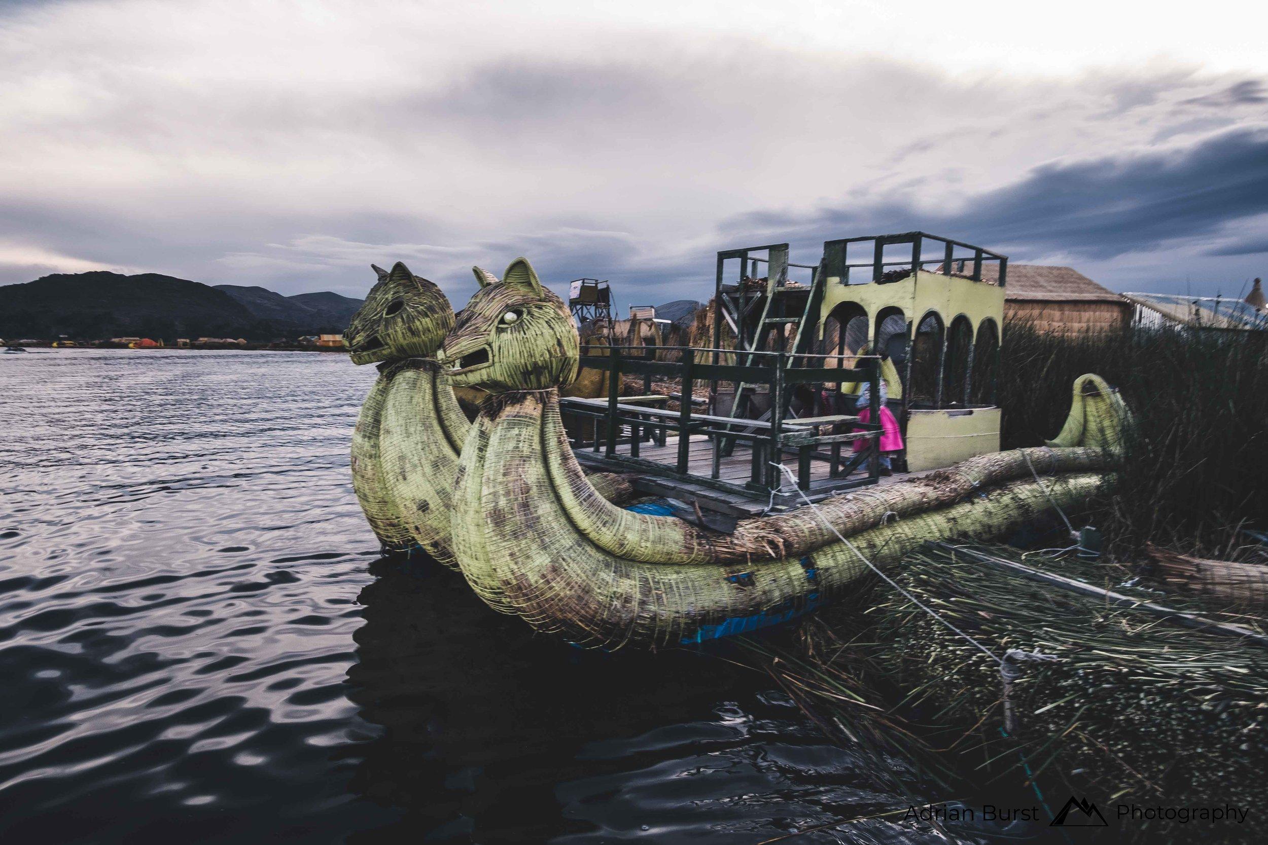 139 | Floating islands, Titicaca lake, Puno