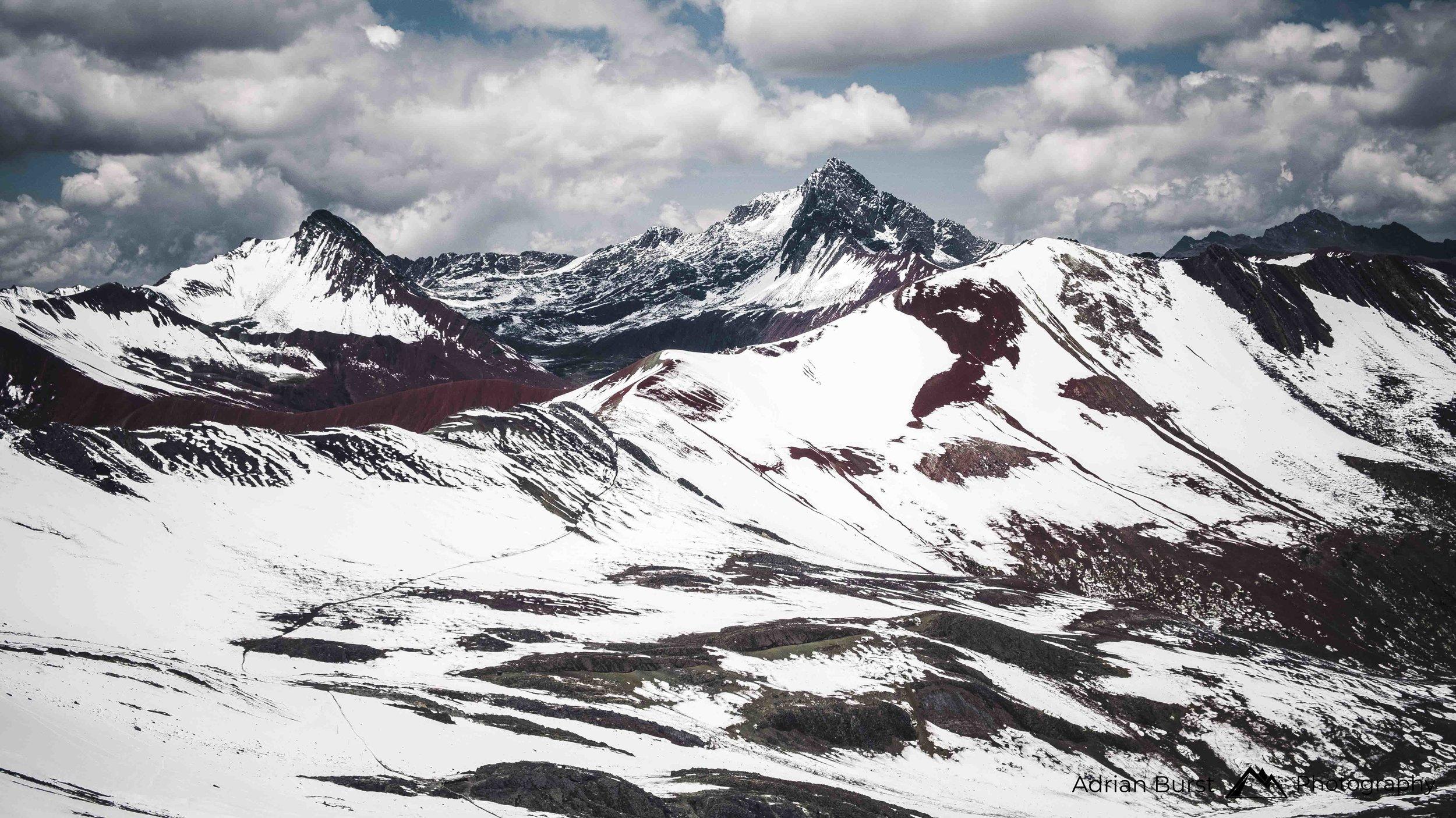 "24 | Vinicunca mountains, ""Rainbow mountains"""