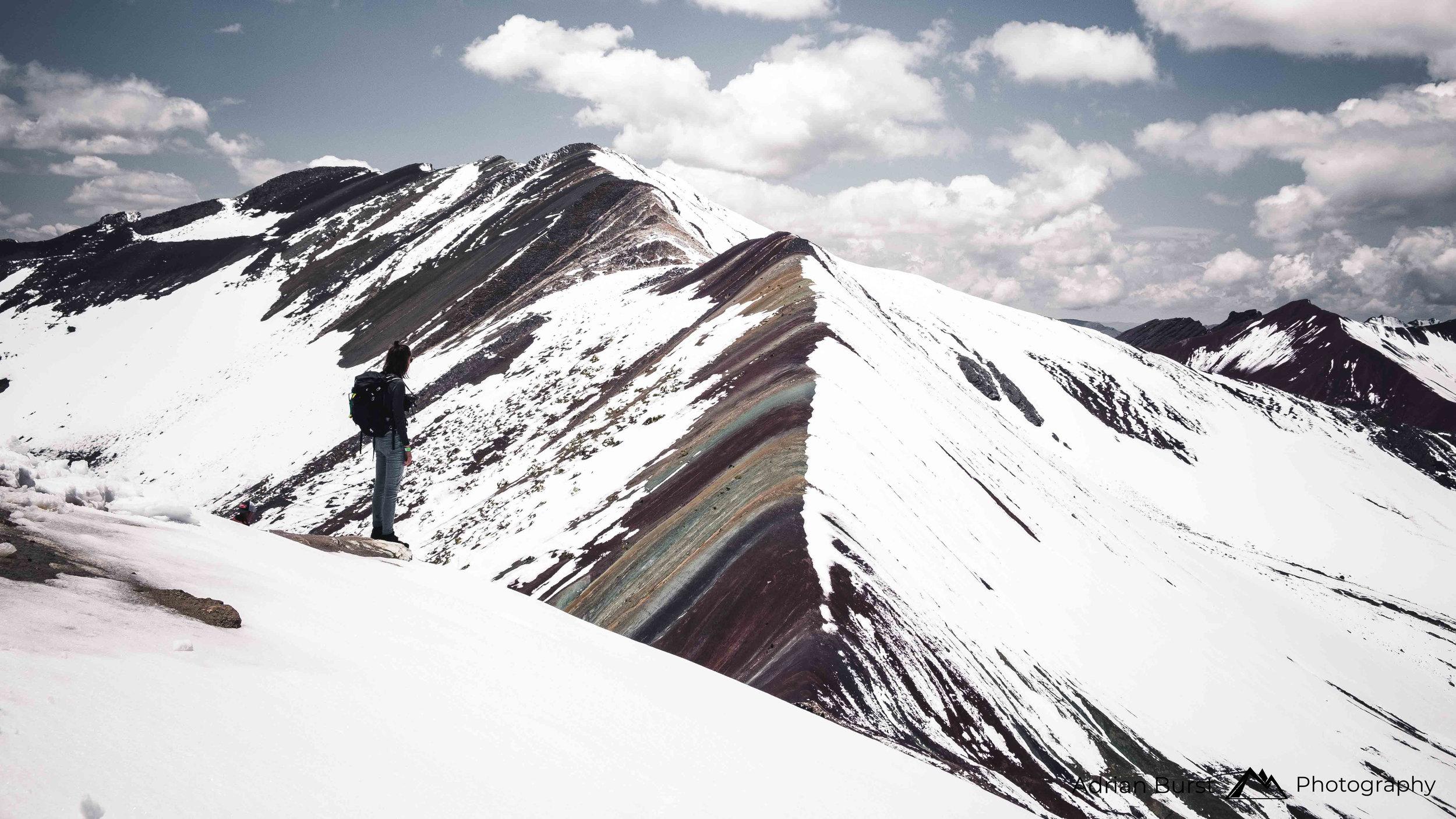 "17 | Vinicunca mountain ""Rainbow mountains"""