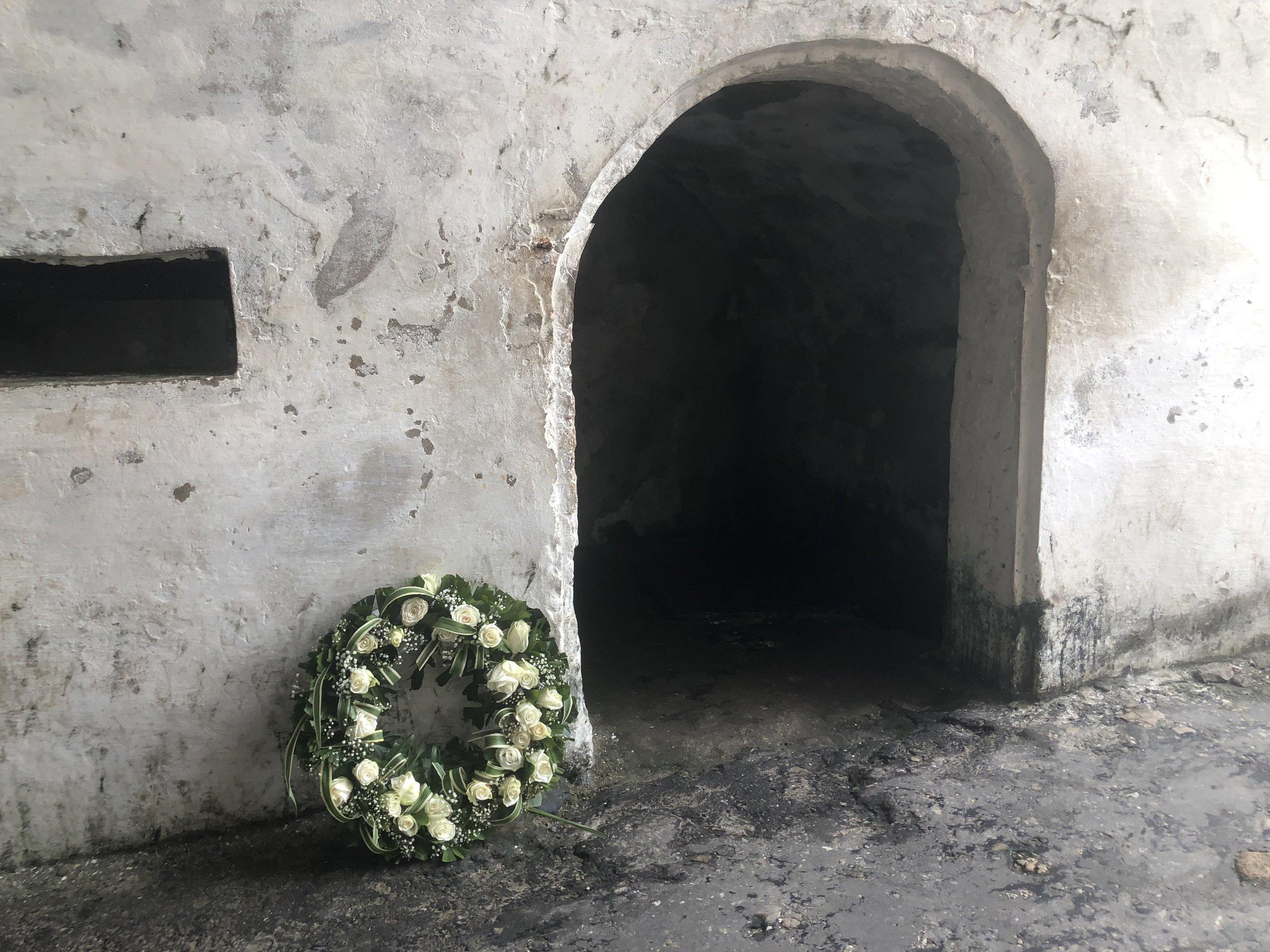 Melania Trump's wreath