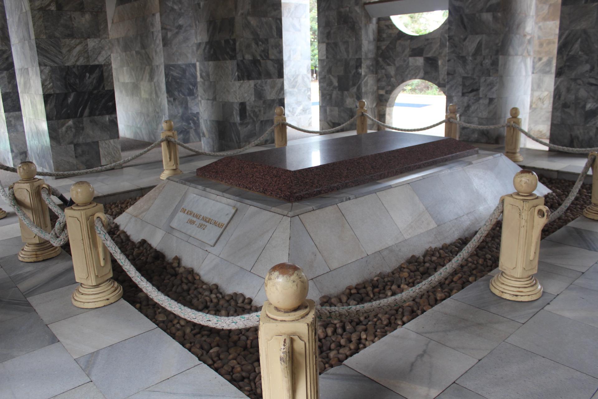 Kwame Nkrumah's tomb