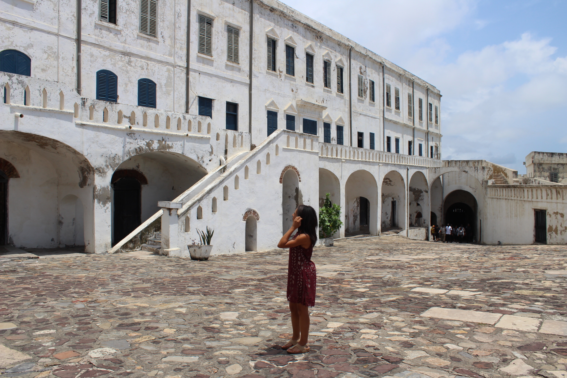 Reflecting on what I learned at the Cape Coast Castle