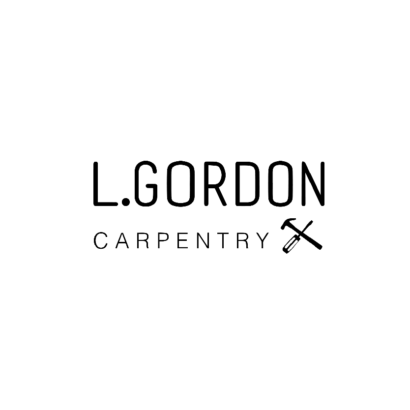 L.Gordon Carpentry Logo Design