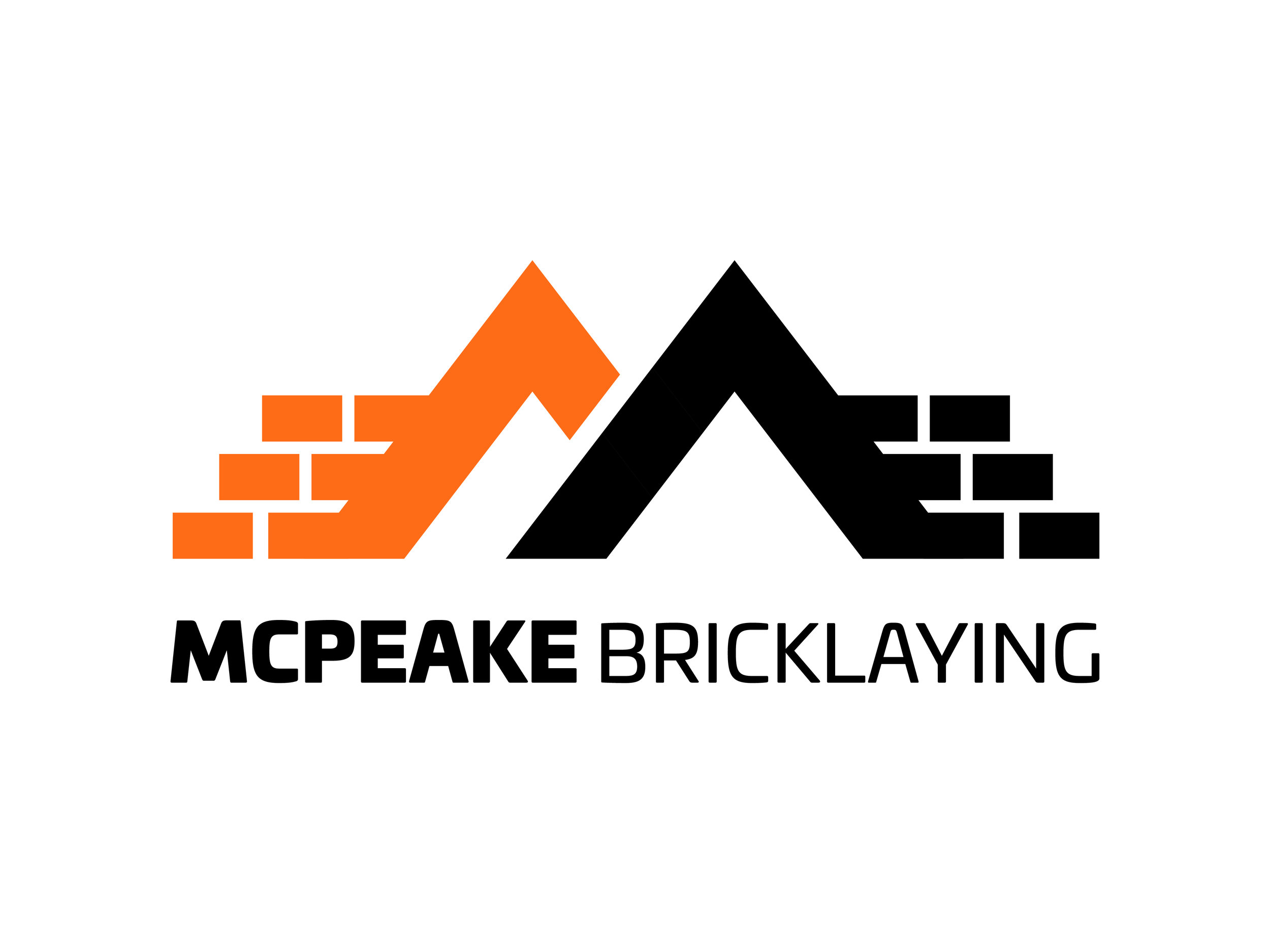 McPeake Bricklaying Logo Design