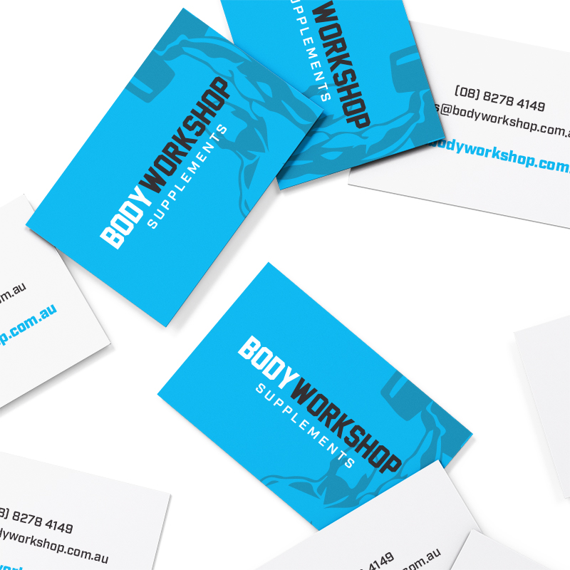 Body Workshop Supplements Business Cards