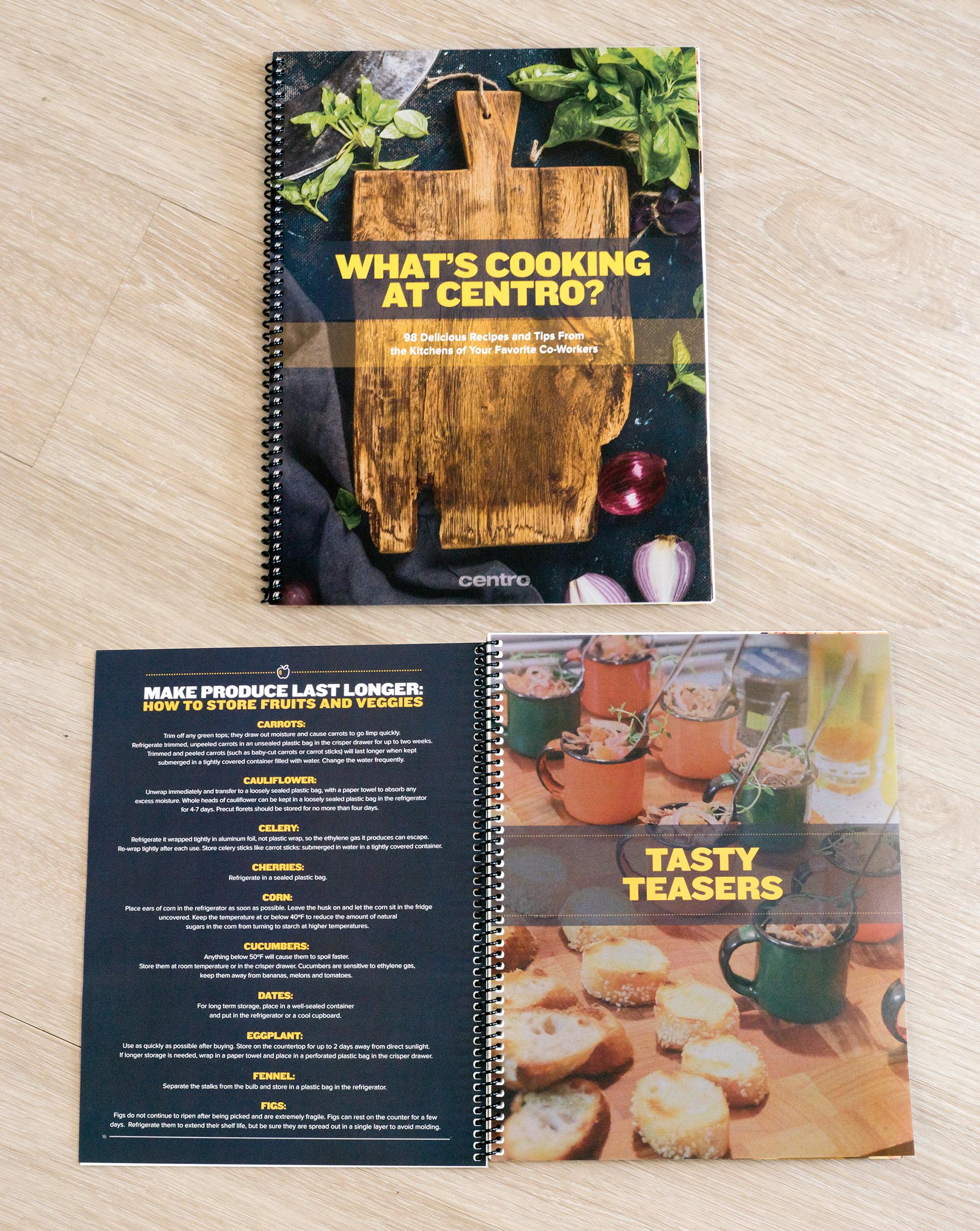 Centro Employee Cook Book