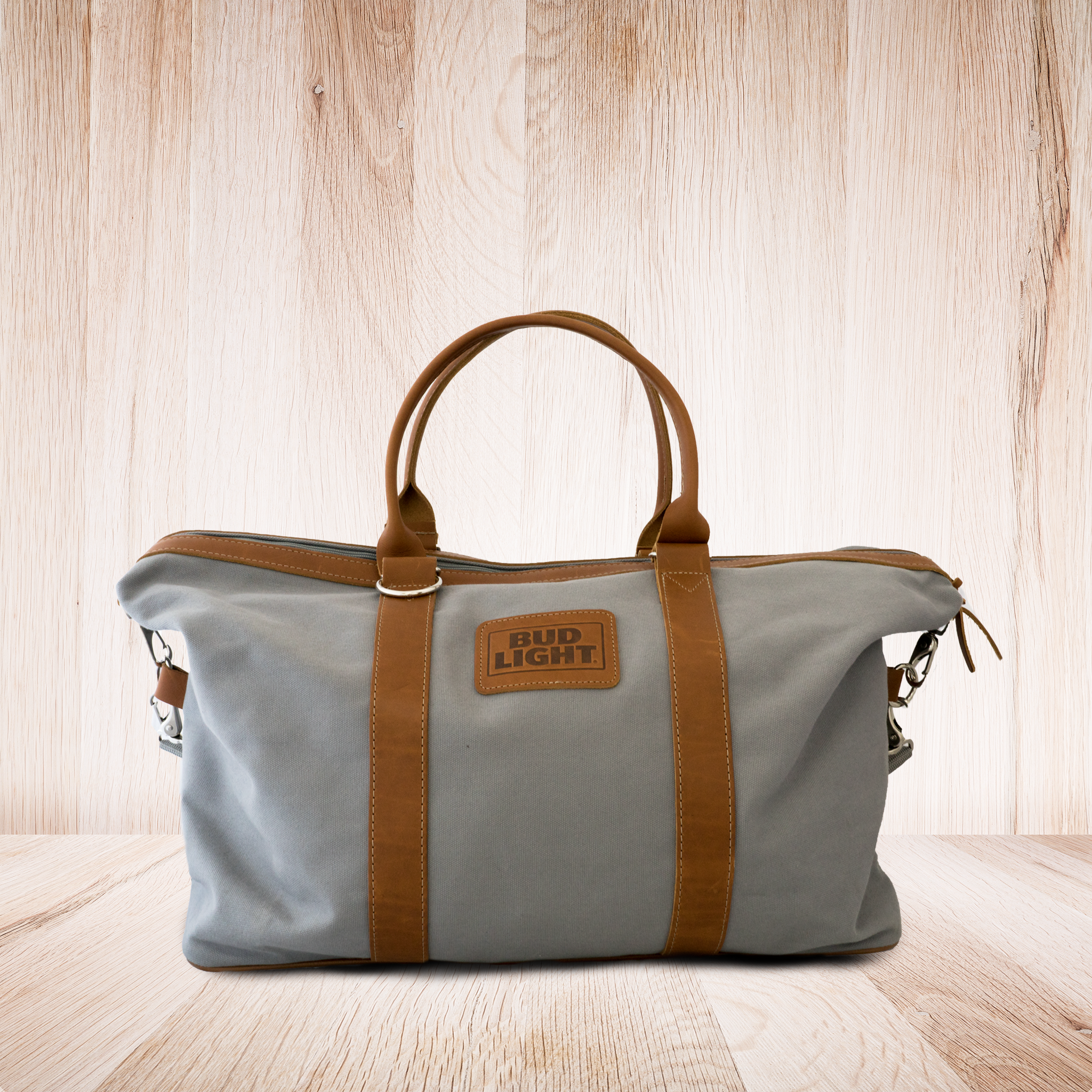 Bud Light Canvas Traveler Bag