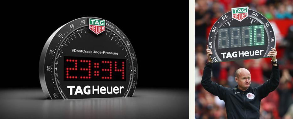 Tag Heuer Scoreboard Desk Clock